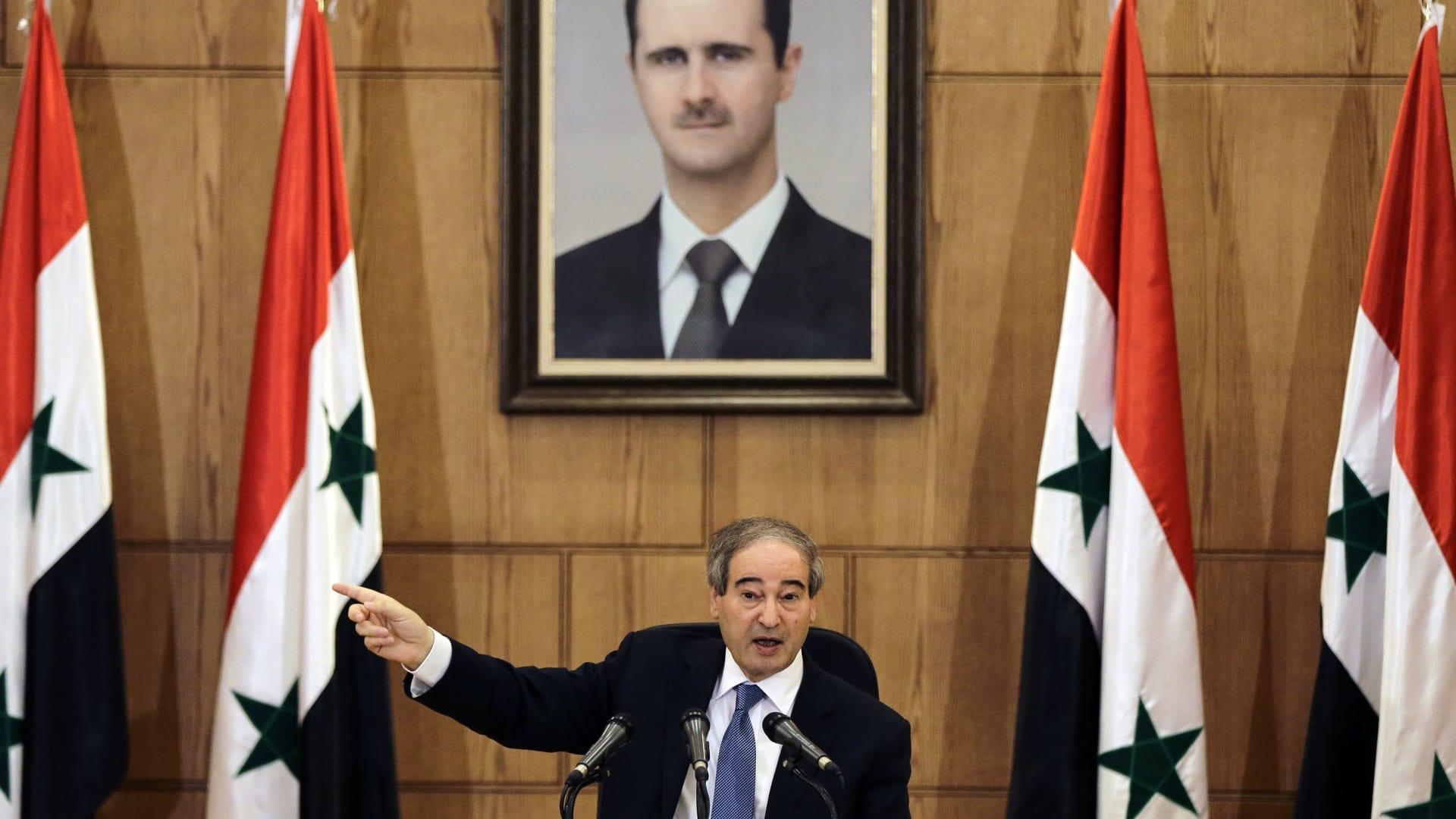 المقداد: واشنطن غير مرتاحة للانجازات التي يحققها الجيش العربي السوري