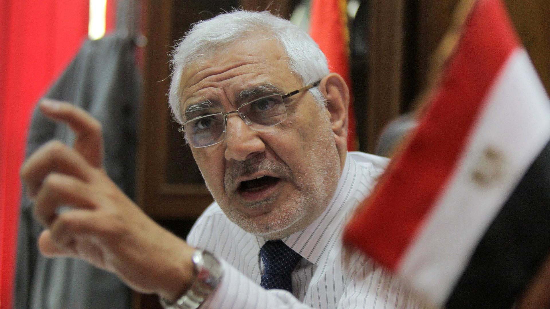 """مصر: توقيف أبوالفتوح يتفاعل.. كيف علق جمال خاشقجي و""""6 أبريل""""؟"""