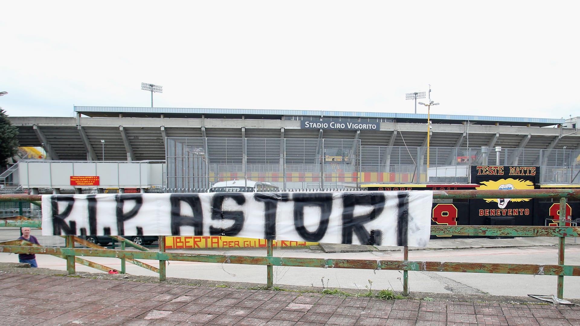 """تأجيل """"ديربي الغضب"""" بعد الوفاة المفاجئة لقائد فيورنتينا الإيطالي"""