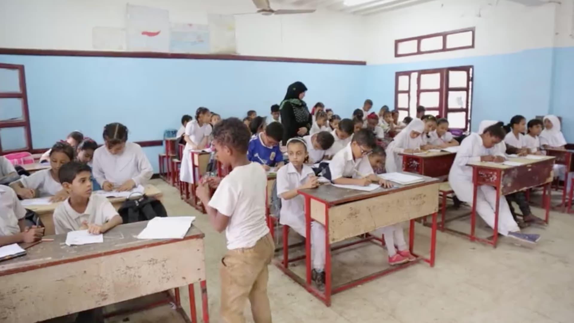 اليونيسيف: مليونا طفل يمني باتوا خارج المدرسة