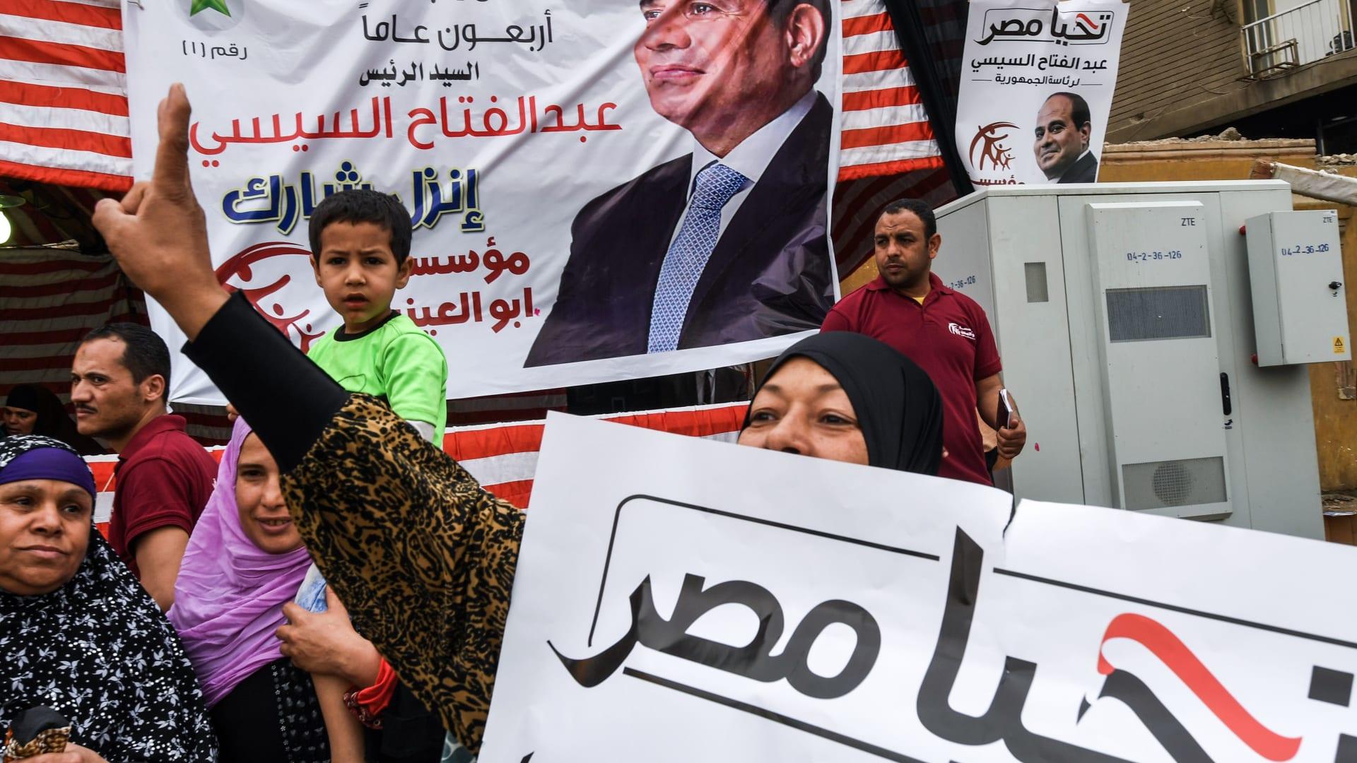 السعودية والإمارات والبحرين تهنئ بفوز السيسي