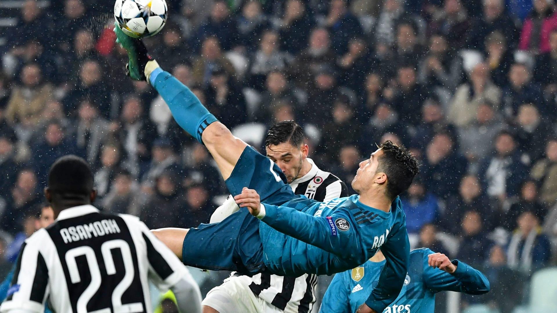 """شاهد.. كريستيانو رونالدو يكرر هدفه """"التاريخي"""" قبل مباراة أتلتيكو"""