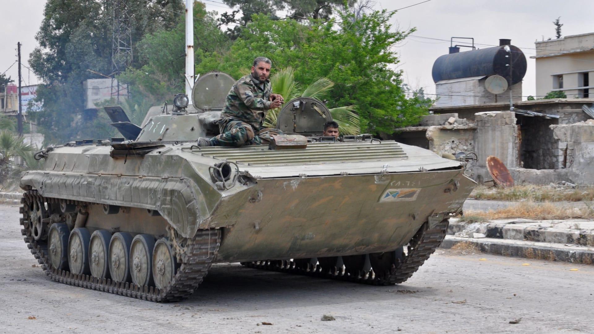 الجيش السوري يعلن سيطرته الكاملة على الحجر الأسود ومخيم اليرموك