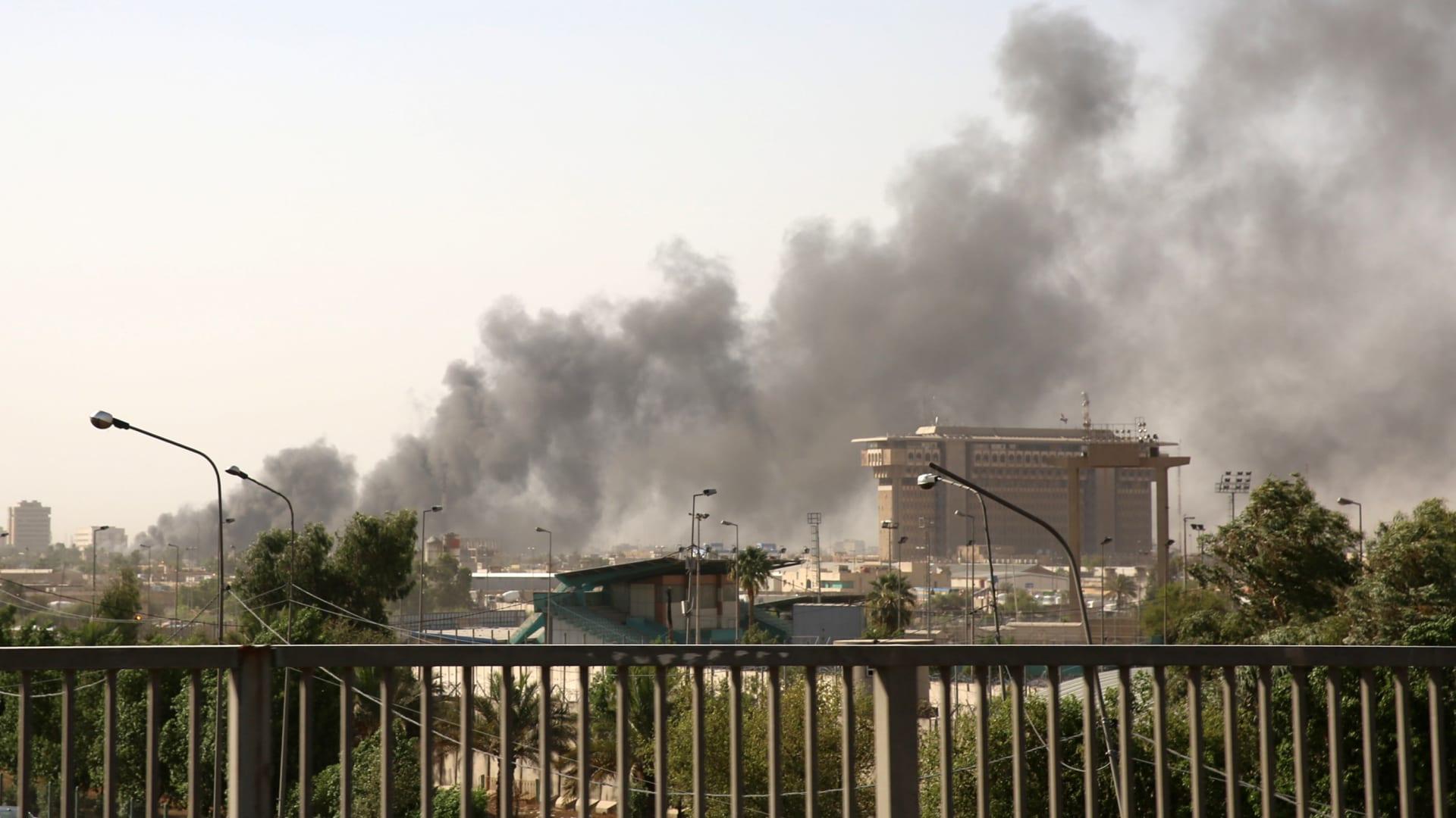 حريق يندلع بمخازن صناديق الاقتراع في بغداد قبل عملية إعادة الفرز