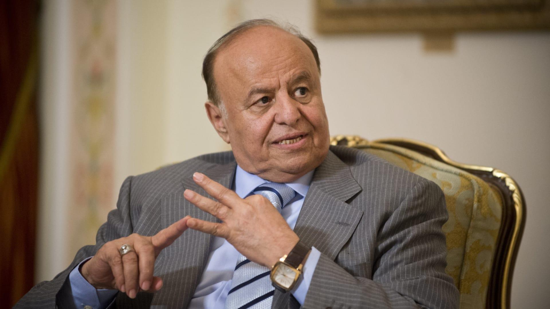 """الرئيس اليمني يدعو لـ""""تحرير"""" الحُديدة ويتمسك بالحل السلمي"""