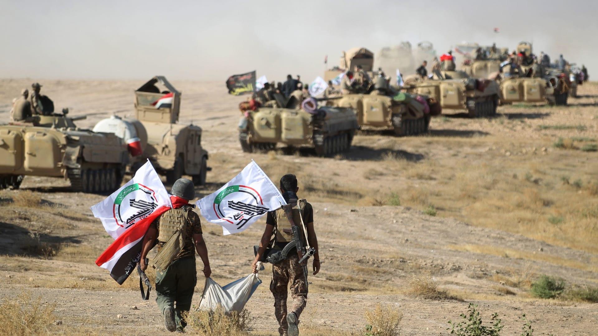 """المالكي: استهداف """"الحشد"""" على الحدود مع سوريا يهدف لإعادة إحياء داعش"""