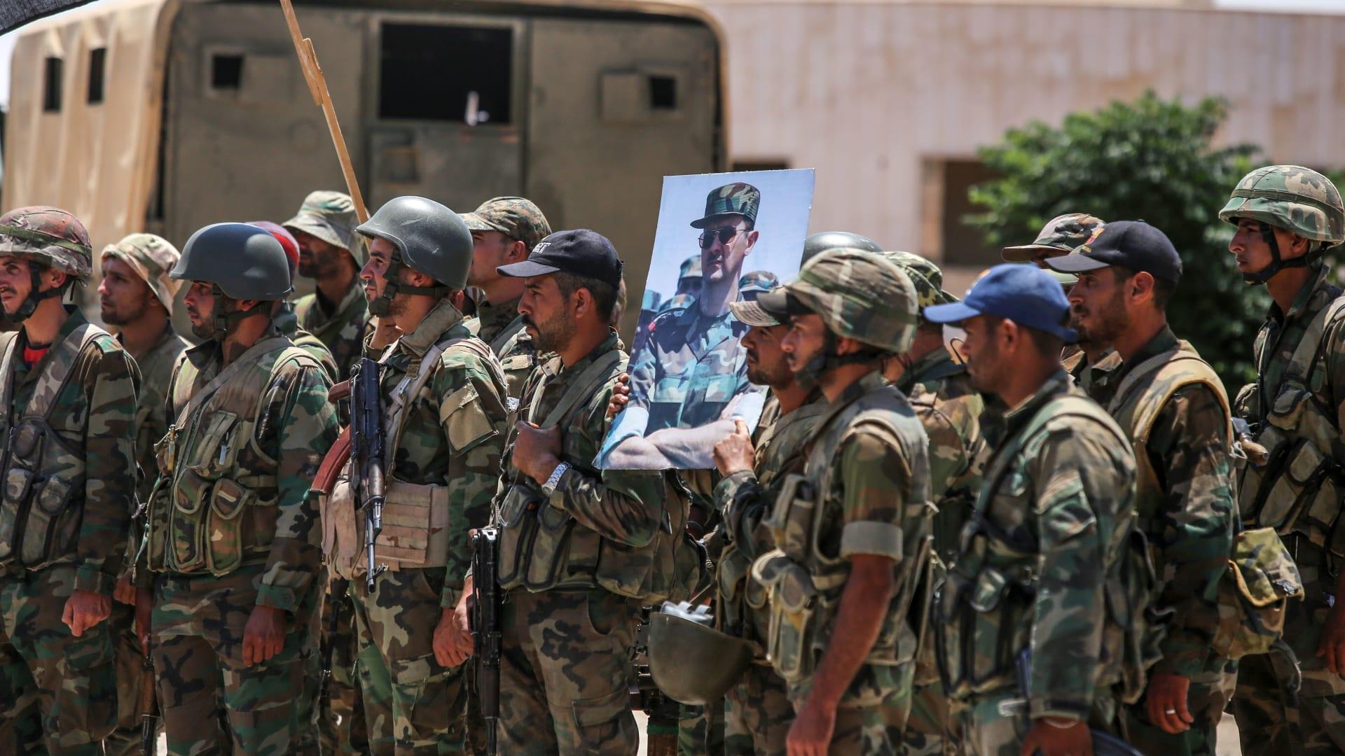 النظام السوري يعلن مقتل 38 شخصا في تفجير انتحاري بالسويداء