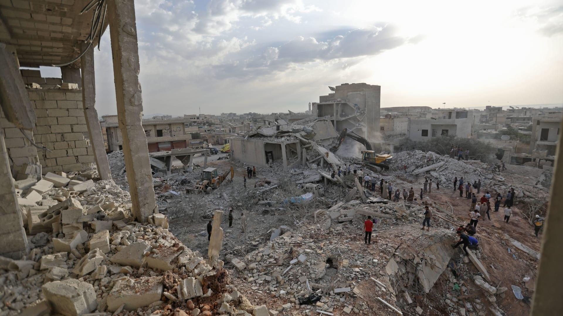 الخارجية الروسية: تحضيرات لمشهد تمثيلي حول هجوم كيماوي في إدلب