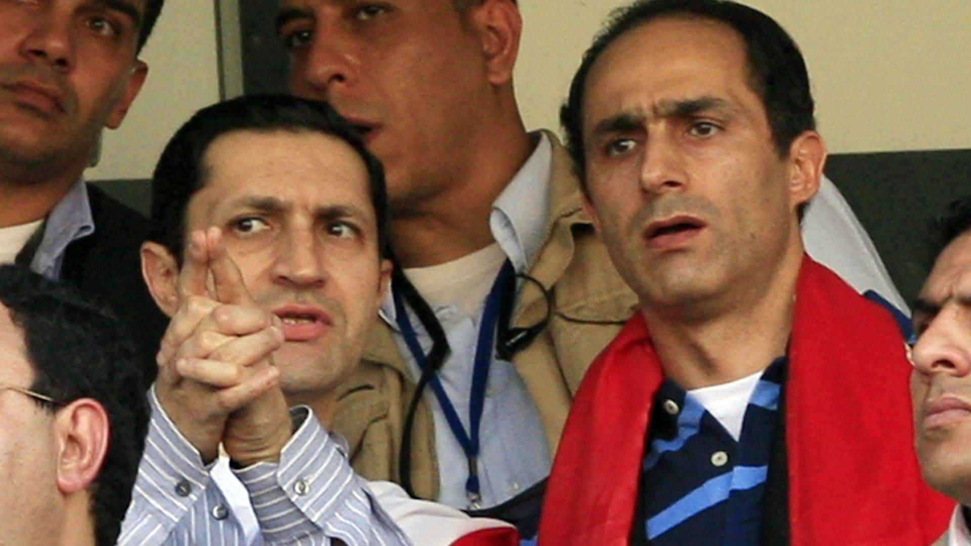 مصر.. أمر قضائي بالقبض على علاء وجمال مبارك