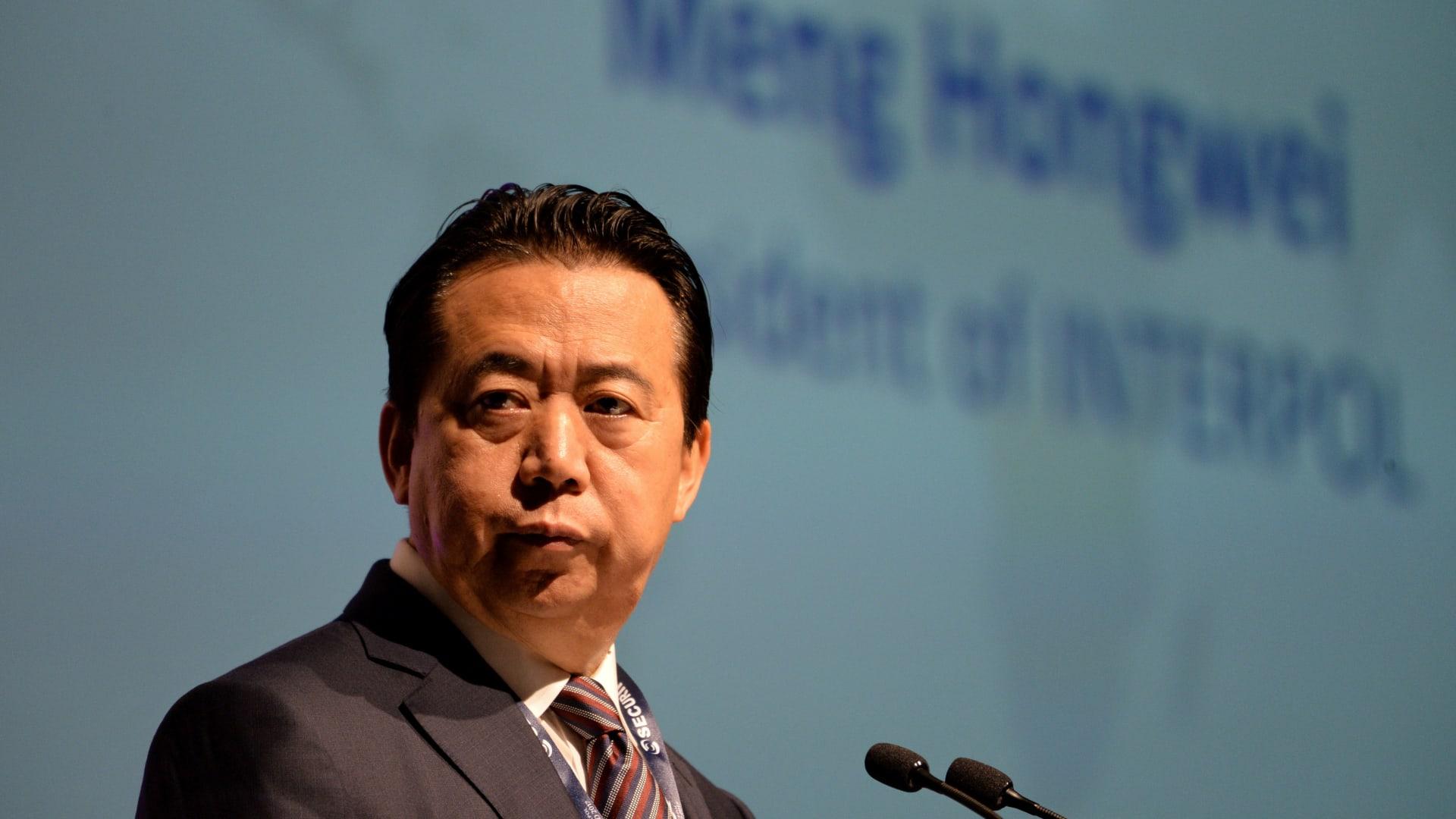 الحزب الحكم في الصين يكشف عن مصير رئيس الإنتربول المختفي