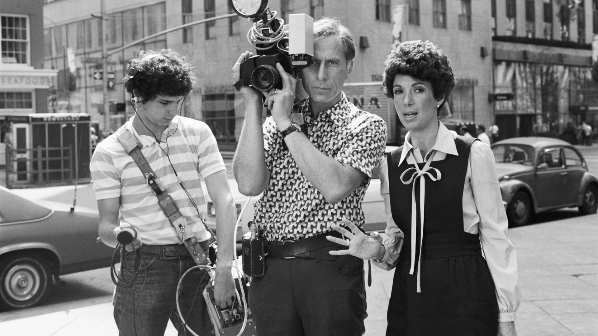المنتجة التلفزيونية بيتي رولن في العام 1977.