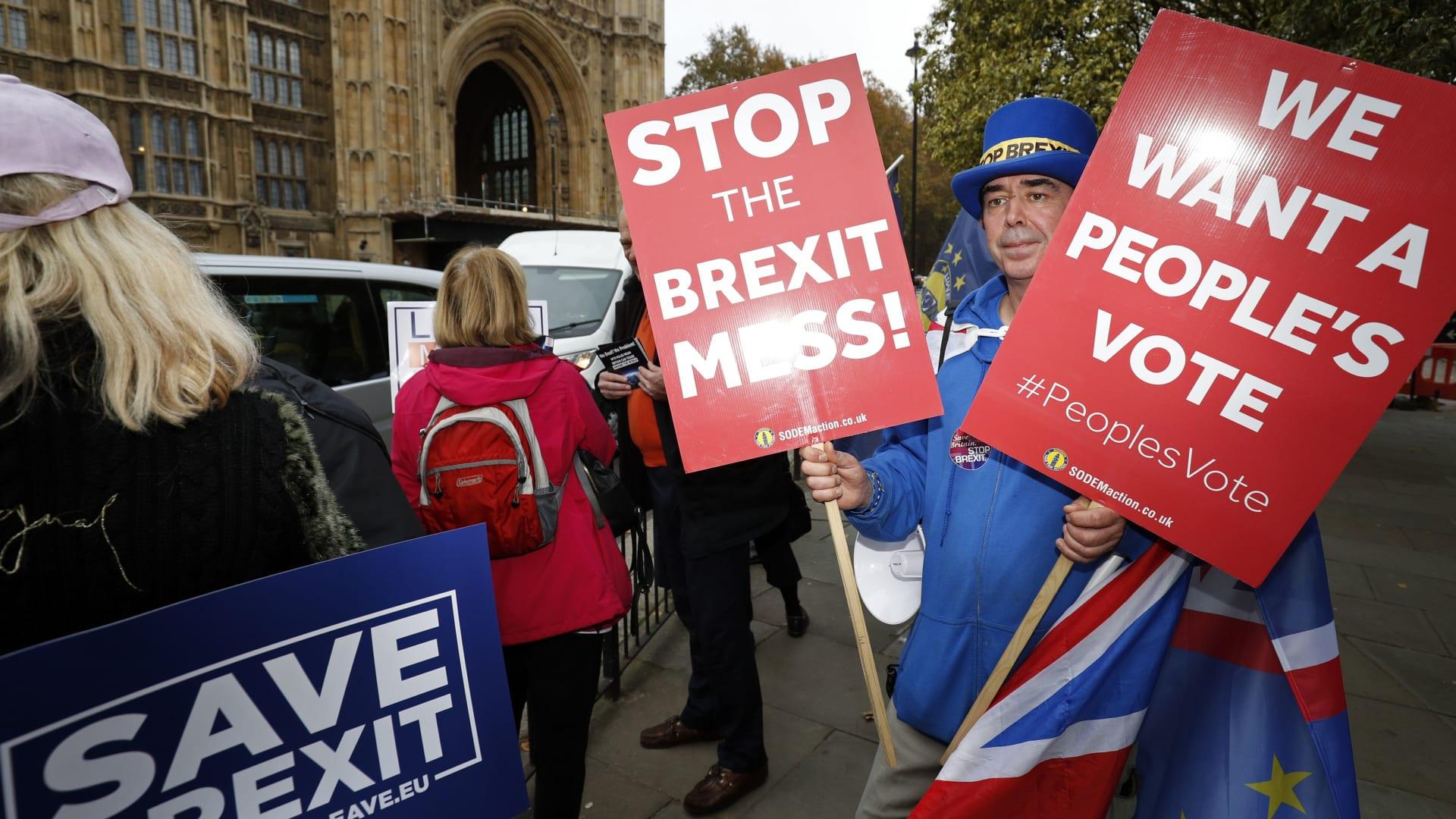 """صندوق النقد يحذر بريطانيا من مغادرة الاتحاد الأوروبي """"دون اتفاق"""""""