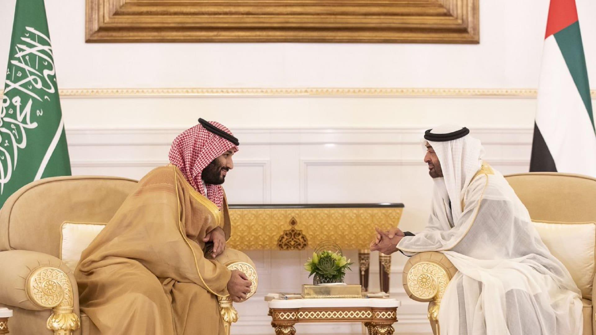 محمد بن زايد يرحب بزيارة ولي العهد السعودي: ستظل الإمارات عونا لأشقائنا