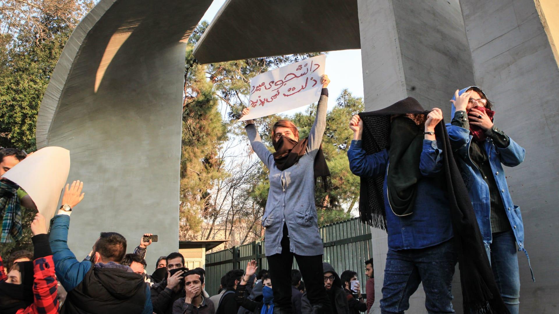 رأي: إيران 2019 ستشهد استمرار الاحتجاجات المتفرقة ومطالب التغيير