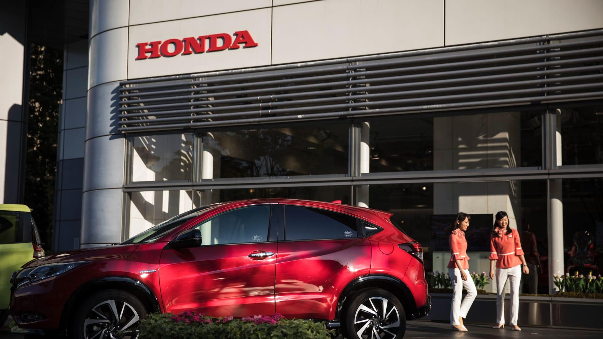 """""""هوندا"""" للسيارات تخطط لغلق مصنعها في بريطاينا عام 2021"""