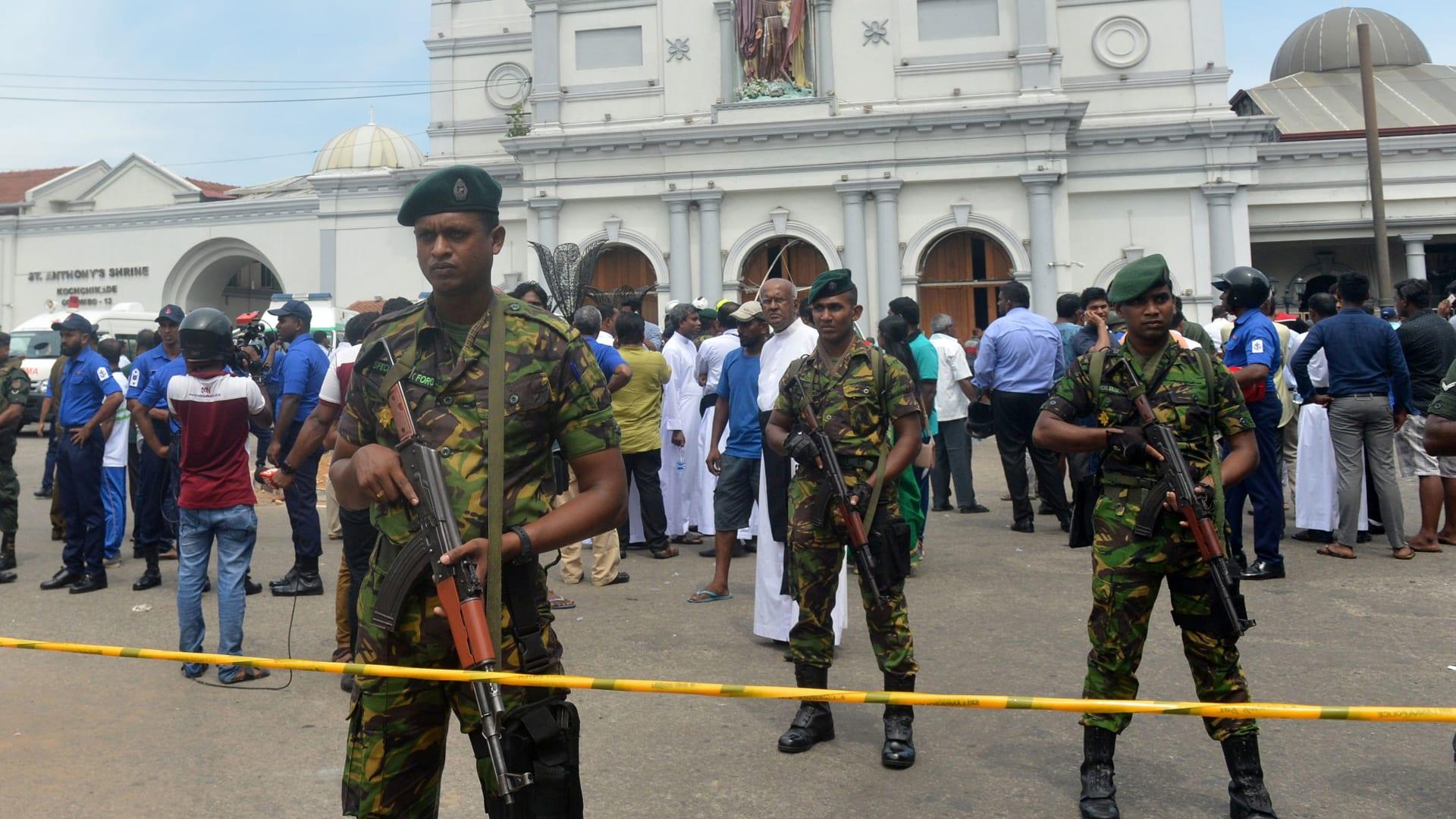 سريلانكا: 6 تفجيرات في 3 مدن.. إليك مواقع الهجمات