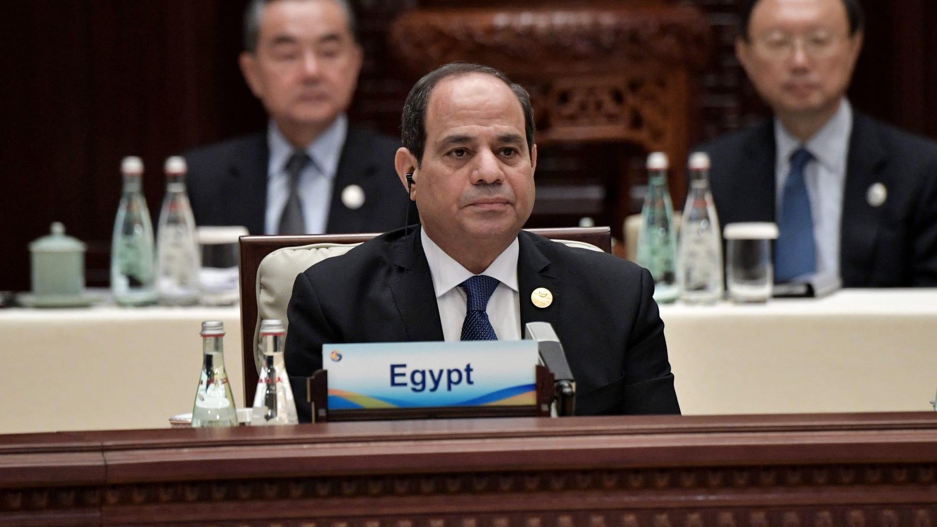 """السيسي للمصريين عن استفتاء التعديلات الدستورية: """"جبرتم خاطري"""""""