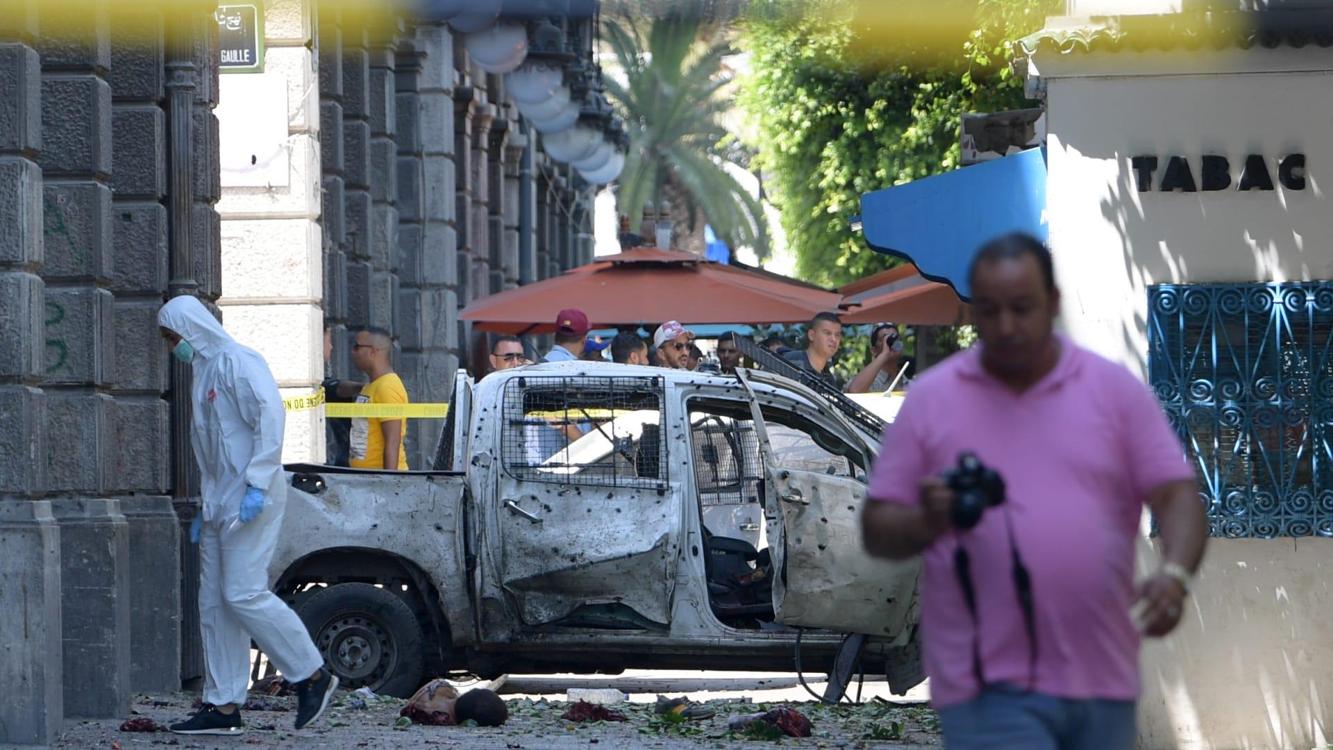 تونس: إصابات بانفجارين في العاصمة منهم 4 عناصر أمنية