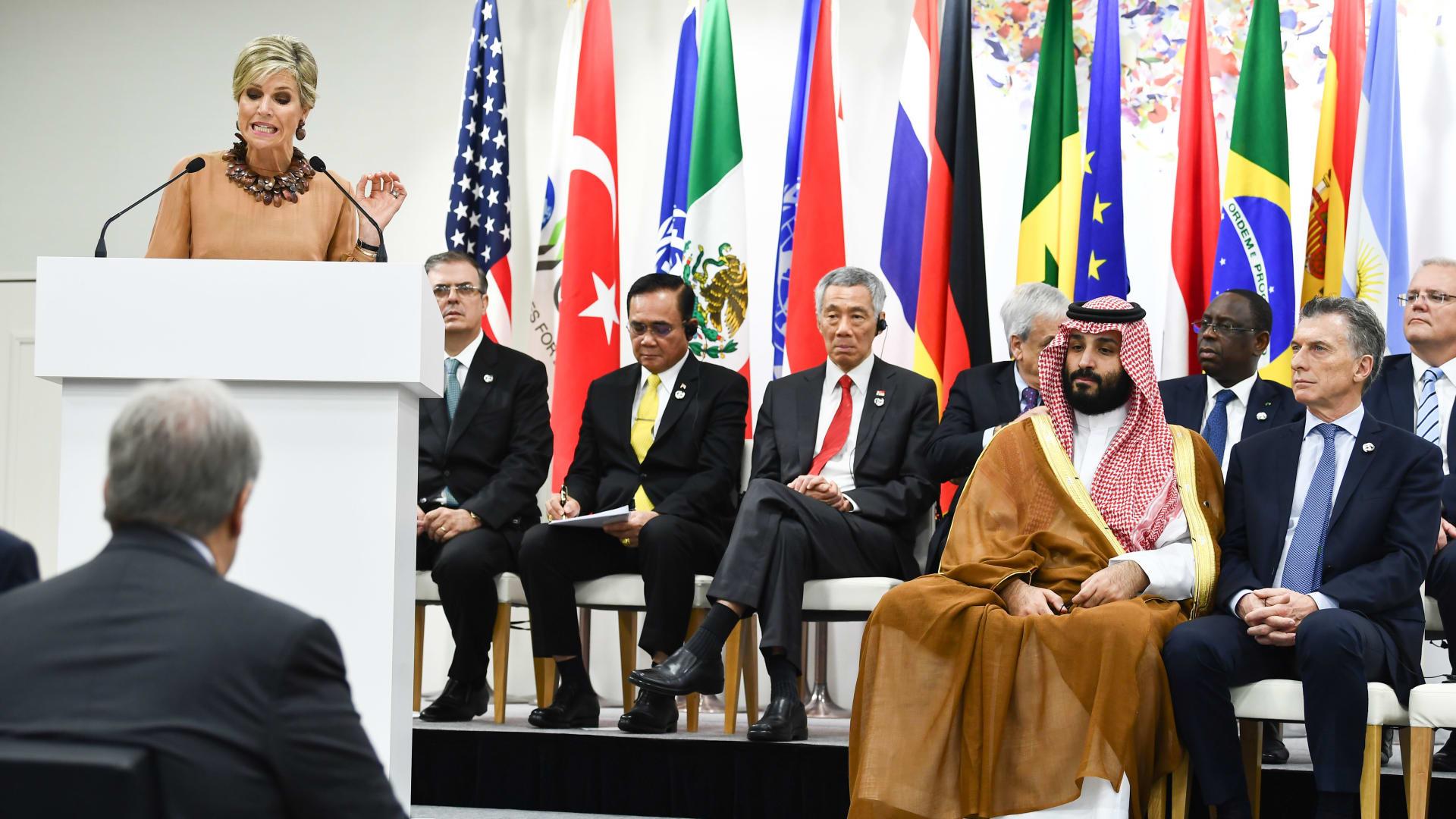 بعد تقريرها عن خاشقجي.. هذه ردة فعل كالامارد على صور ولي عهد السعودية محمد بن سلمان مع ترامب وملكة هولندا