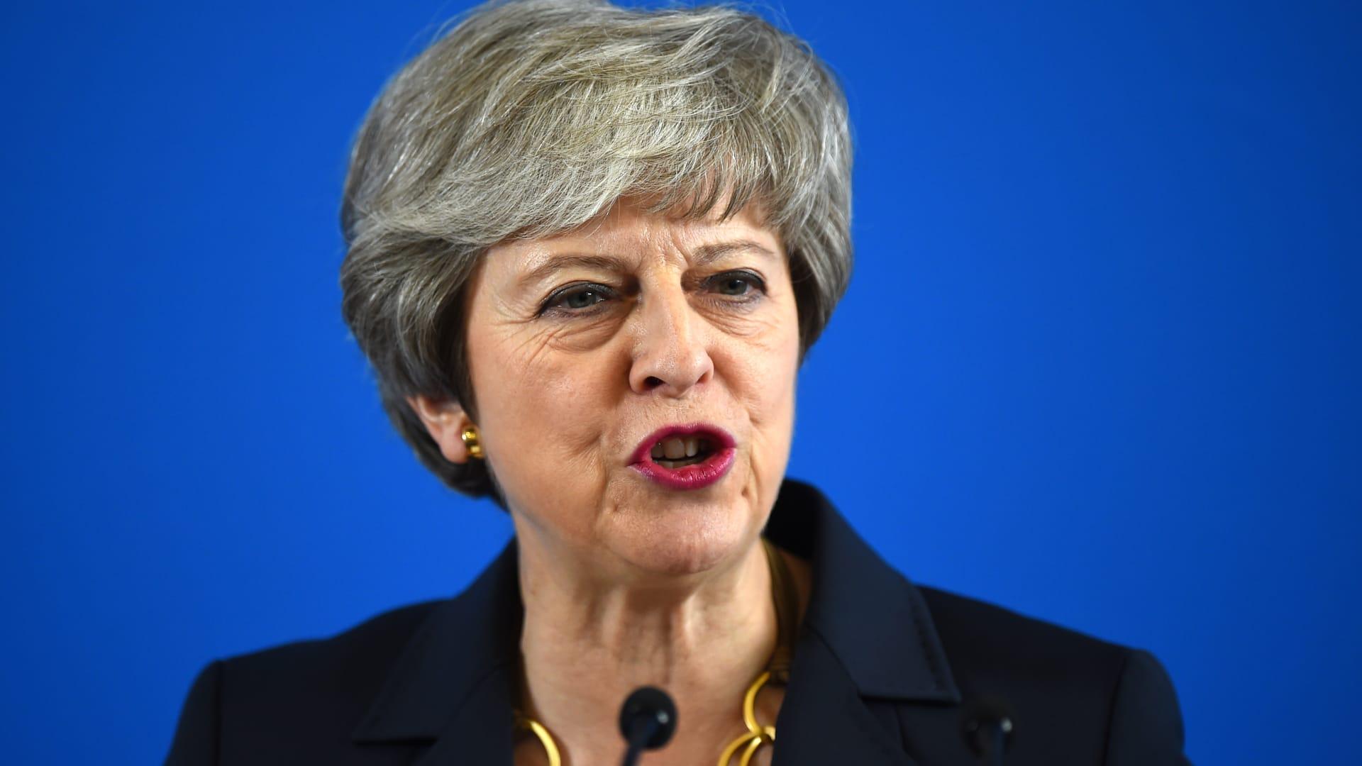 رئيسة وزراء بريطانيا توجه رسالة للمثليين: سأكون حليفكم الدائم