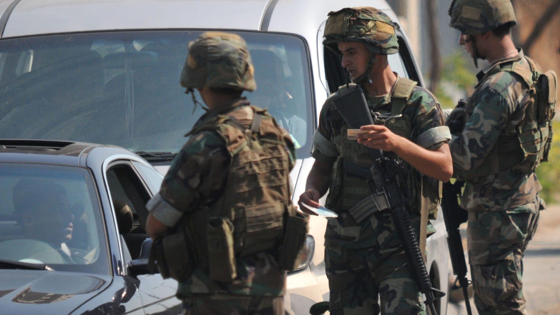 """من هو """"أبوخطاب"""" المطلوب المصري الذي أوقفته دورية للجيش اللبناني؟"""