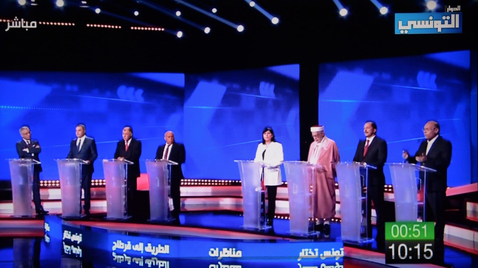 ليلة ساخنة مع أول مناظرة رئاسية في تاريخ تونس