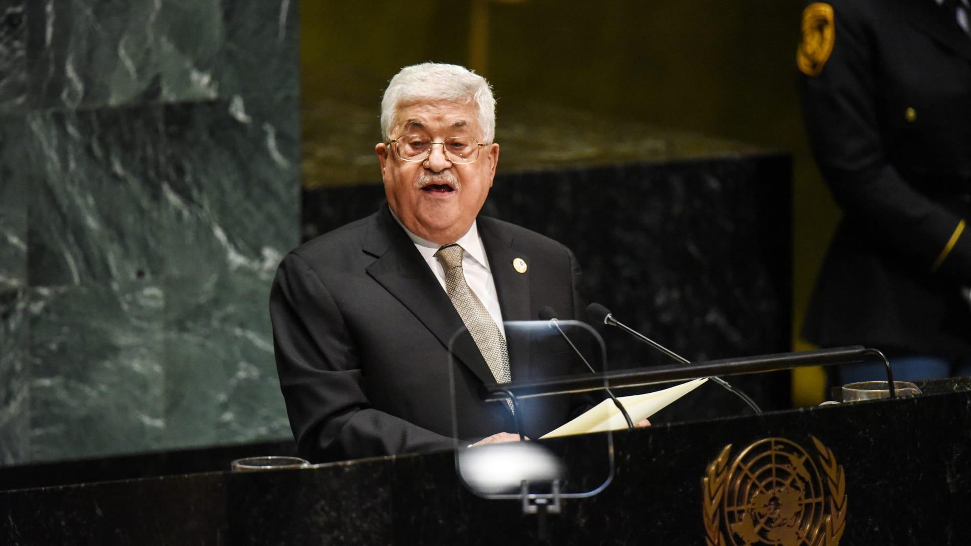 الرئيس الفلسطيني: سأدعو لانتخابات عامة في الضفة وغزة فوري عودتي من نيويورك
