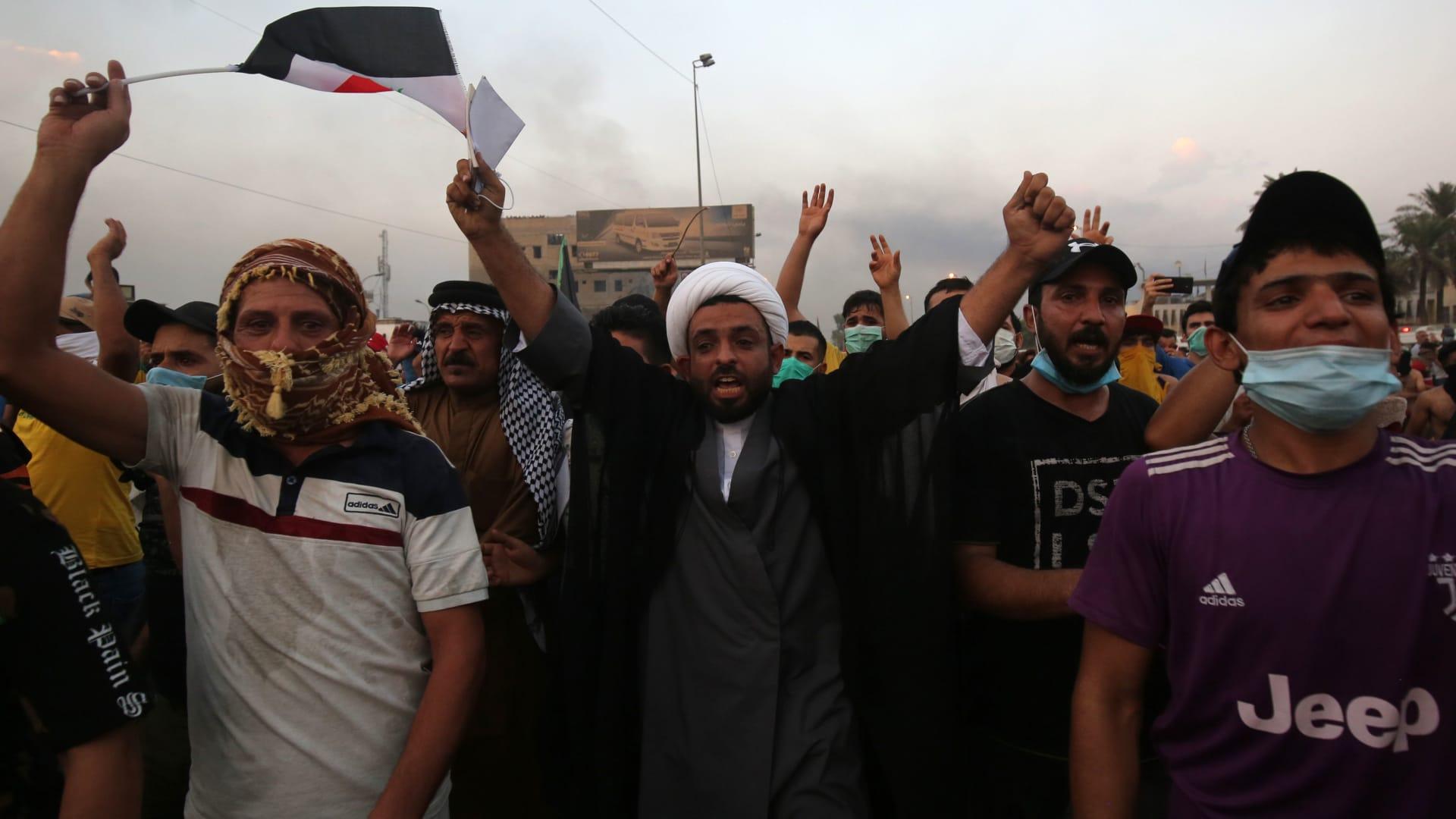 مصدر يكشف لـCNN آخر حصيلة قتلى في مظاهرات العراق.. وهذه تعليقات الصدر والمالكي وعلاوي