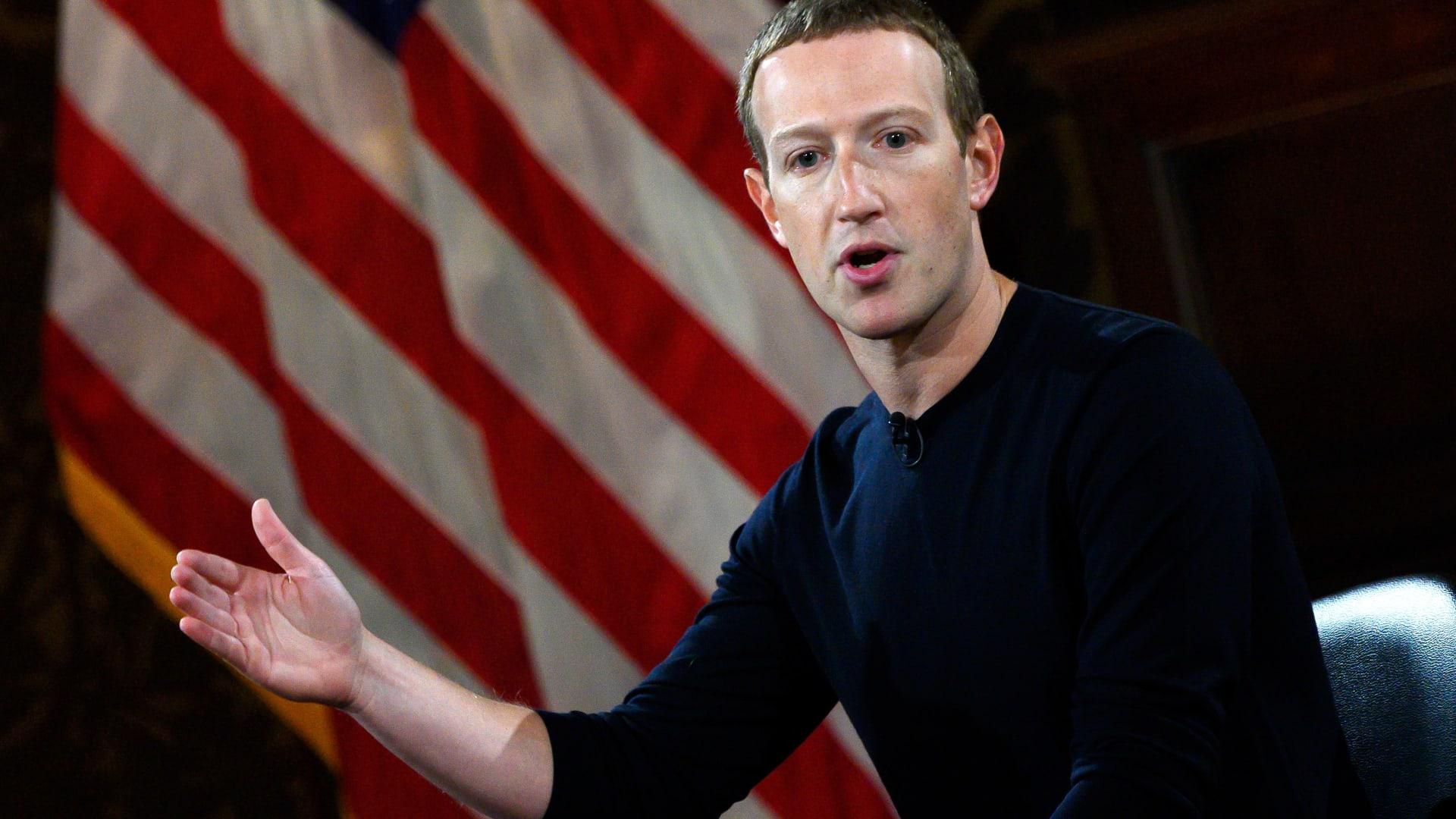 مارك زوكربيرغ: عملة فيسبوك الرقمية لا تهدف لمنافسة الدولار