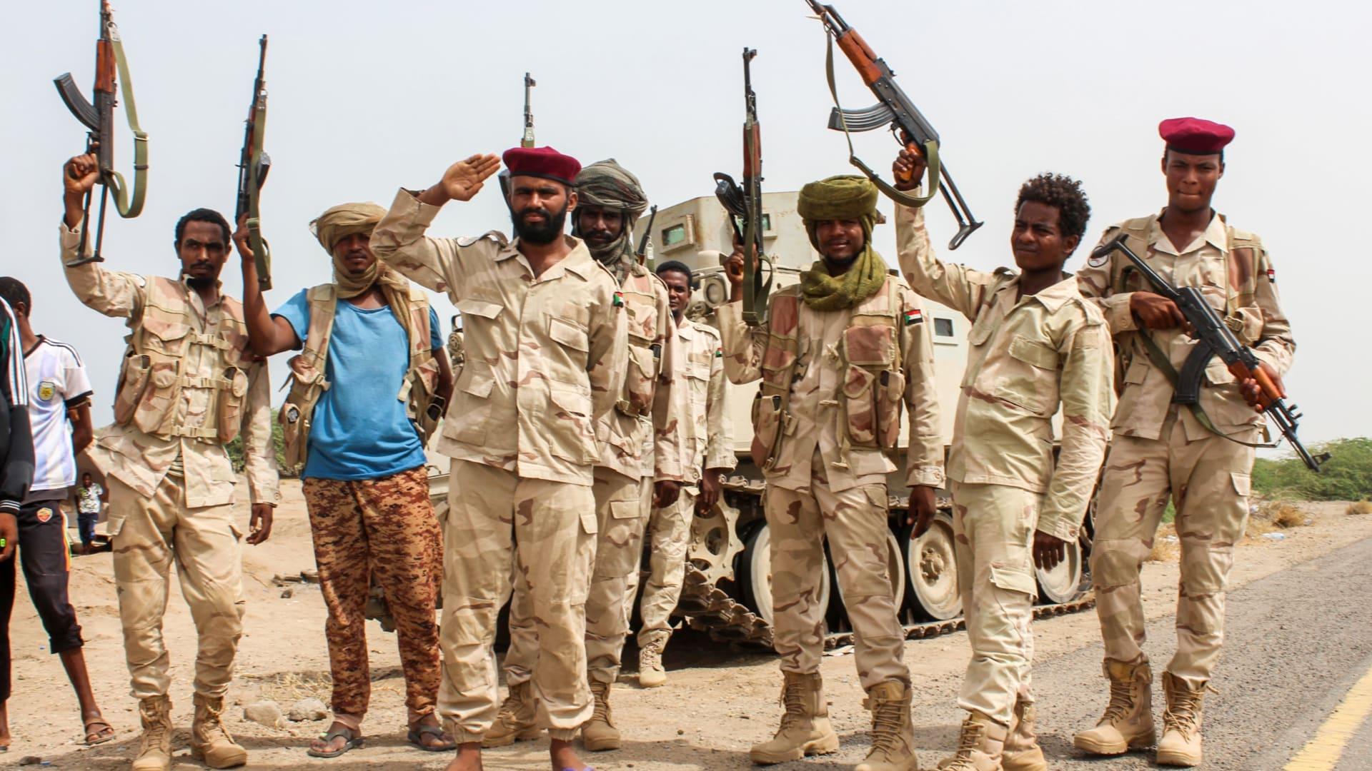 """الحوثيون: عناصر الجيش السوداني في اليمن """"أهداف مشروعة"""".. ونطالب بسحبهم"""
