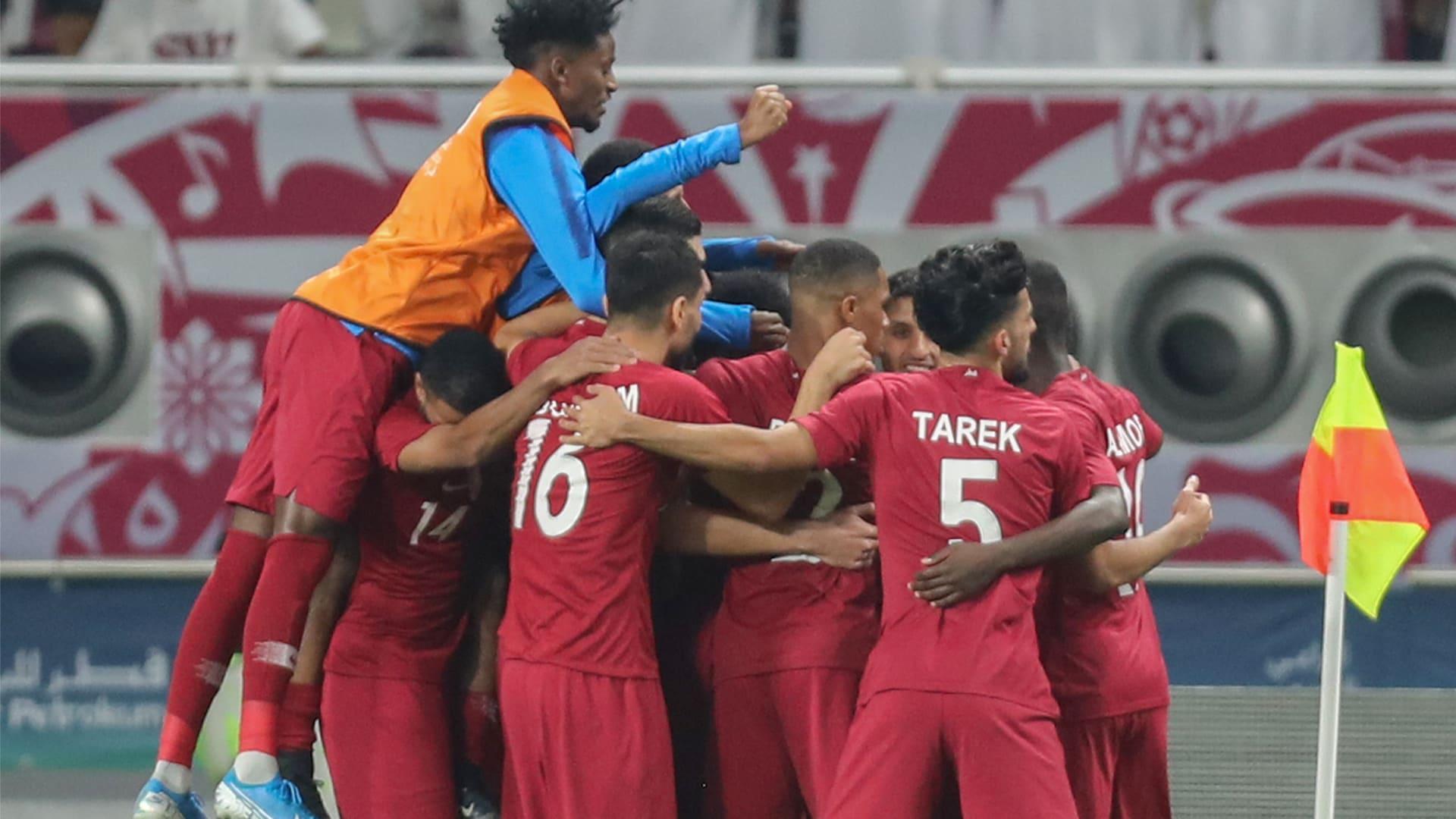 المنتخب القطري يتغلب على نظيره الإماراتي ويُقصيه من كأس الخليج