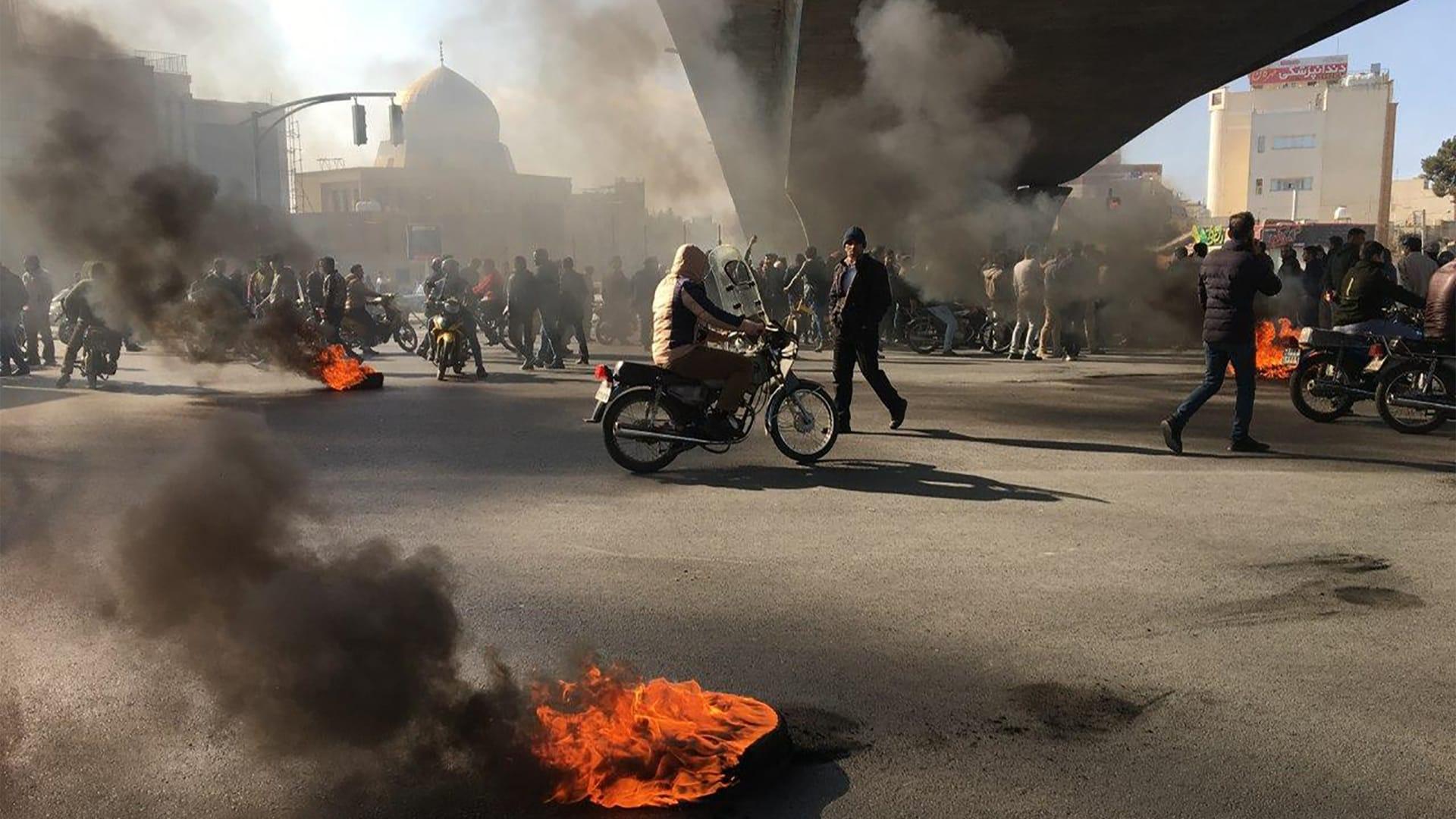 العفو الدولية: ارتفاع قتلى احتجاجات إيران الأخيرة إلى 208