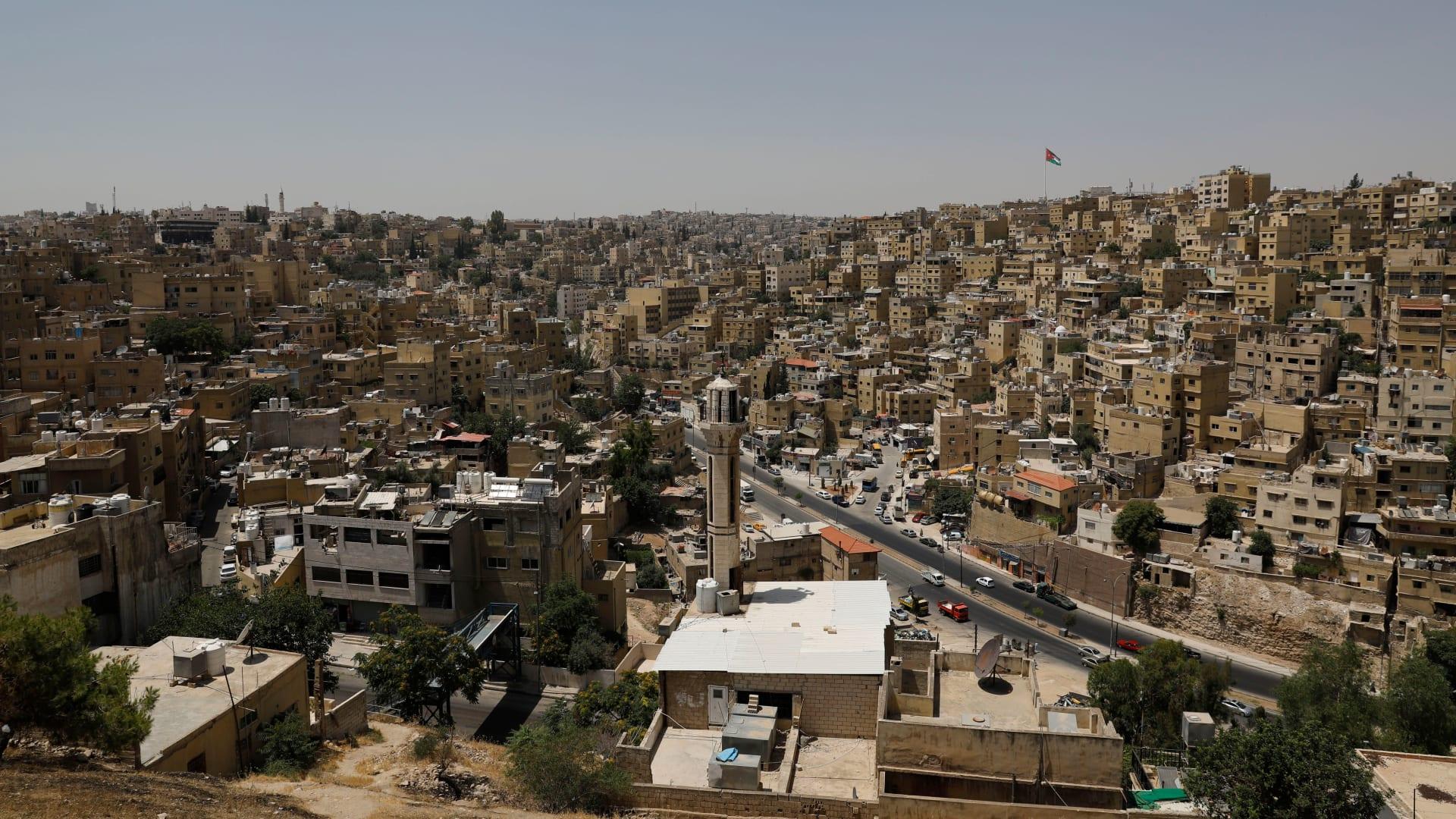 صورة عامة من العاصمة الأردنية، عمان