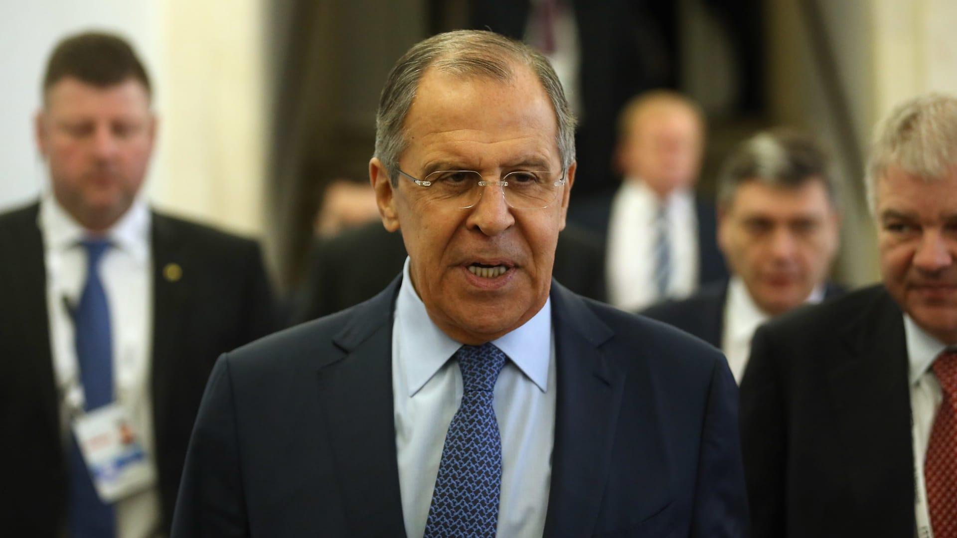 في أول زيارة له منذ 2017.. وزير الخارجية الروسي يلتقي ترامب بواشنطن الثلاثاء