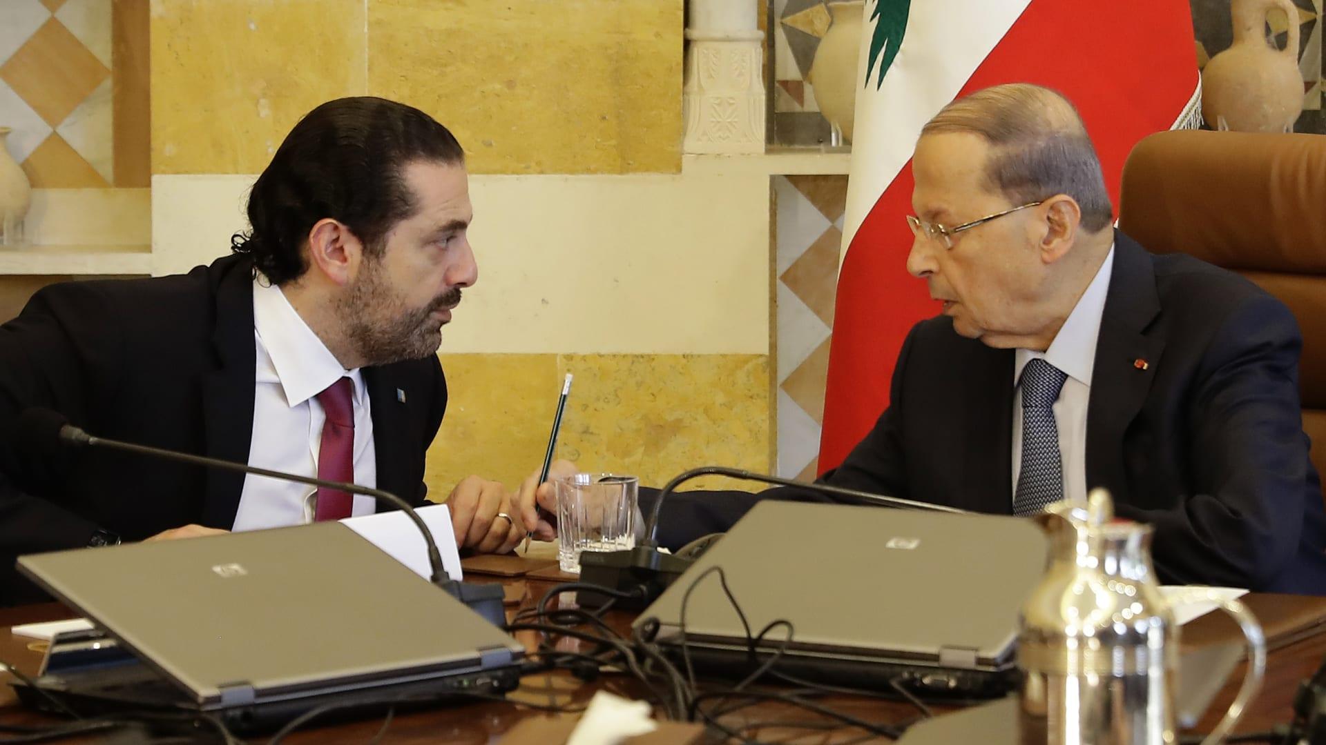 الحريري وعون في اجتماع سابق