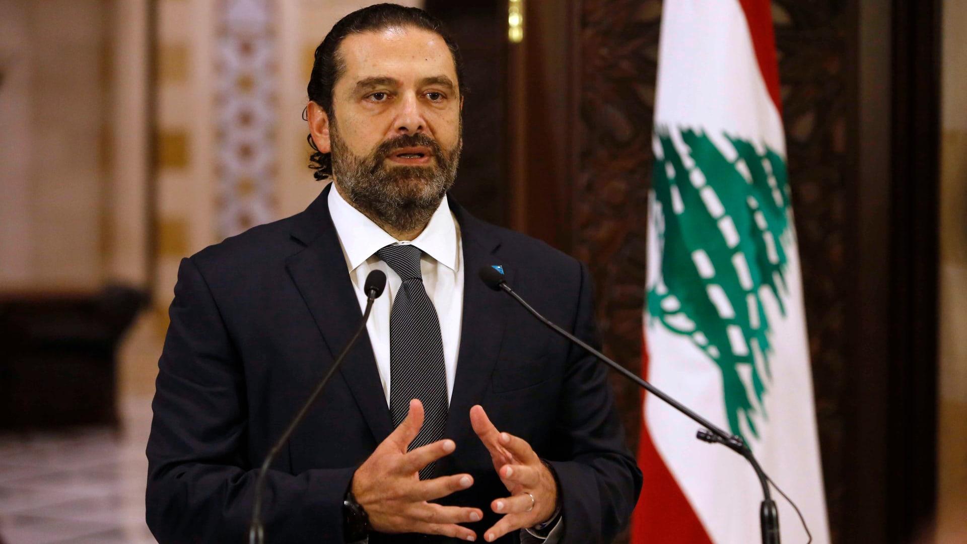 الحريري يهاجم رئيس لبنان وصهره: لن أترأس حكومة إلا إذا اعتدلا.. ولا ألعب بالنار