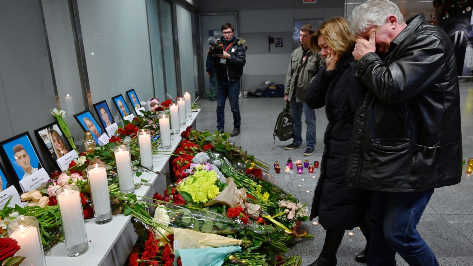 كييف: حددنا جثث جميع مواطنينا ضحايا سقوط الطائرة الأوكرانية في إيران