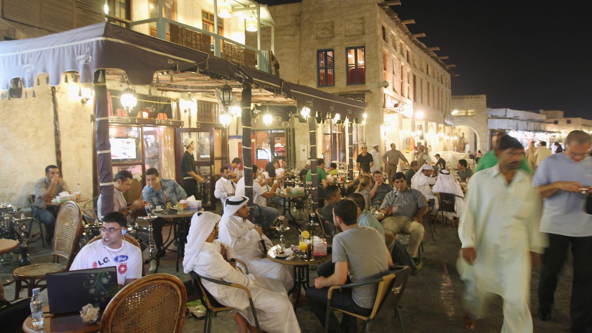 صورة أرشيفية من سوق واقف في قطر