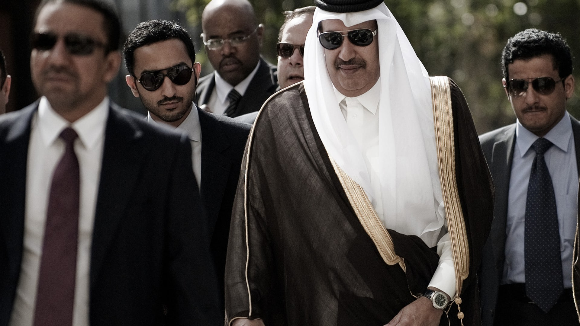 صورة أرشيفية لرئيس وزراء قطر الأسبق حمد بن جاسم