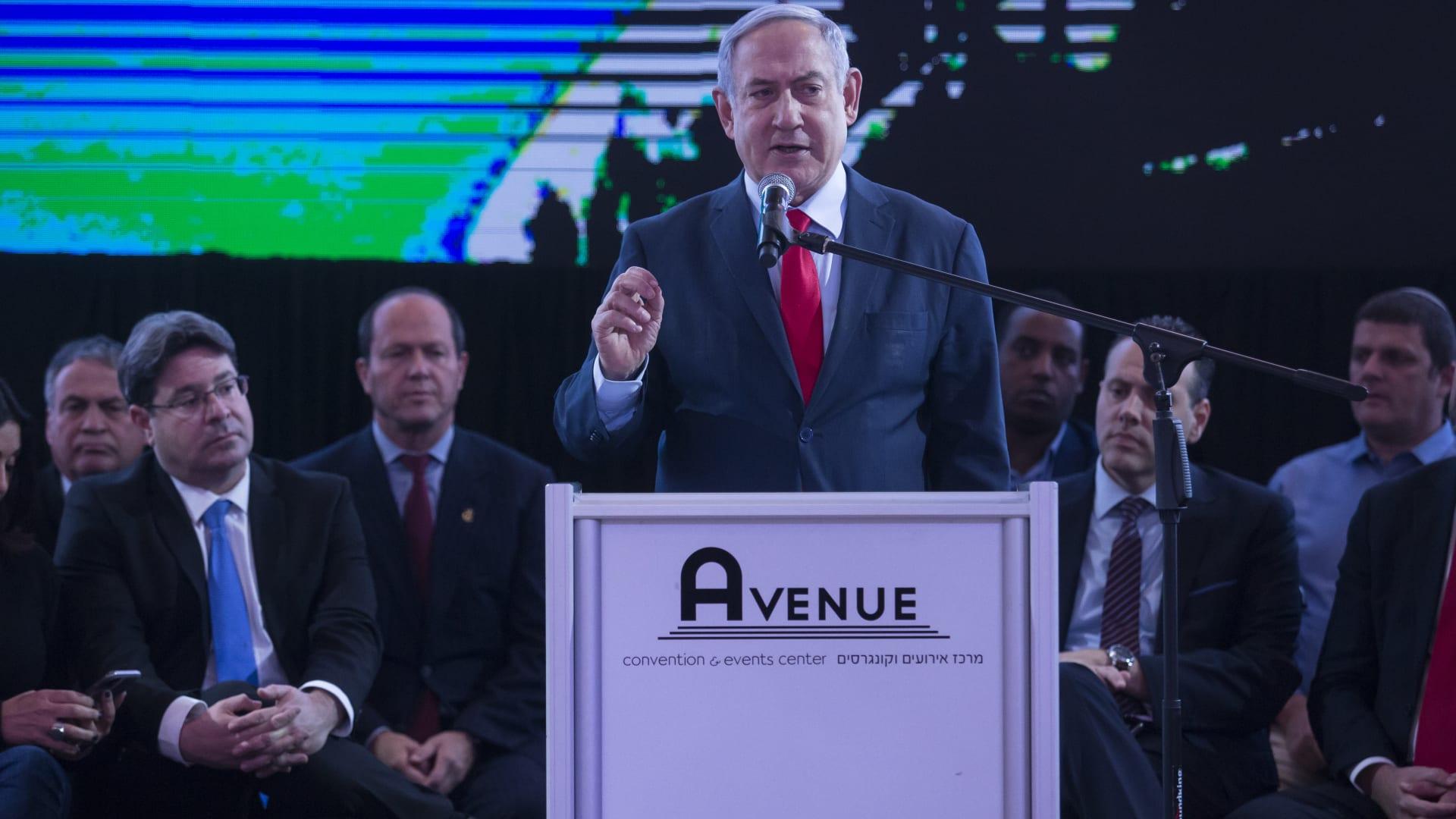 اليمين الإسرائيلي يعلن فوزه بالانتخابات.. ونتنياهو: شكرًا