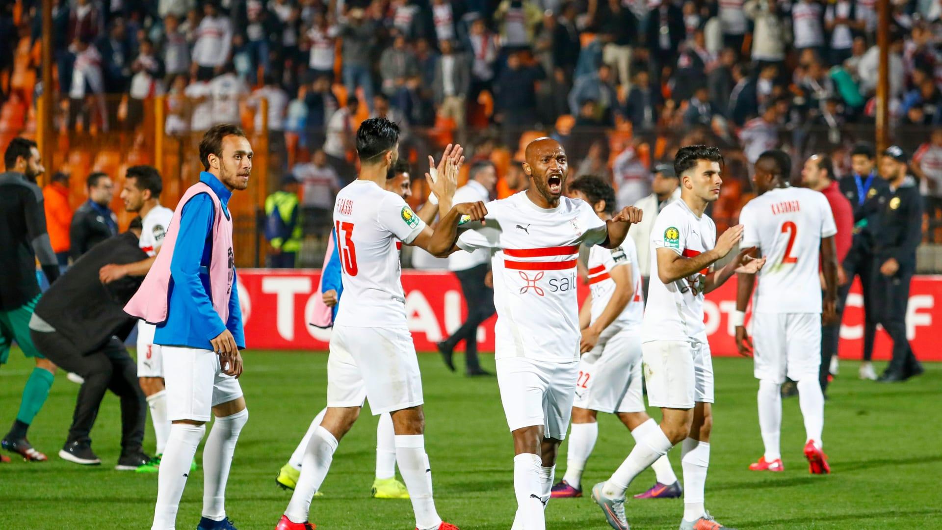 الزمالك المصري يتأهل لنصف نهائي دوري أبطال أفريقيا رغم هزيمته من الترجي