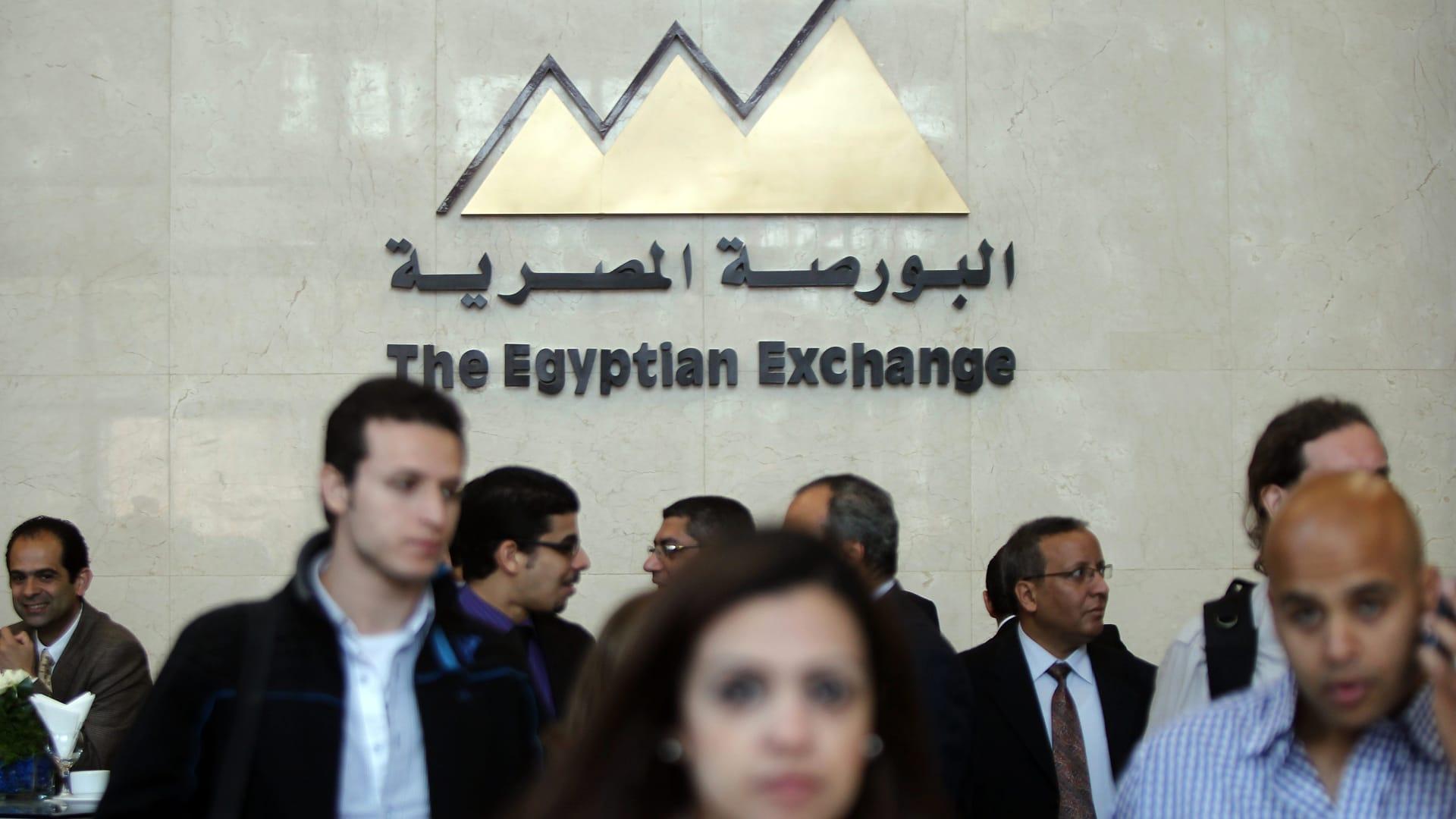 بورصة مصر توقف التداول لنصف ساعة بعد هبوط حاد في مؤشرها