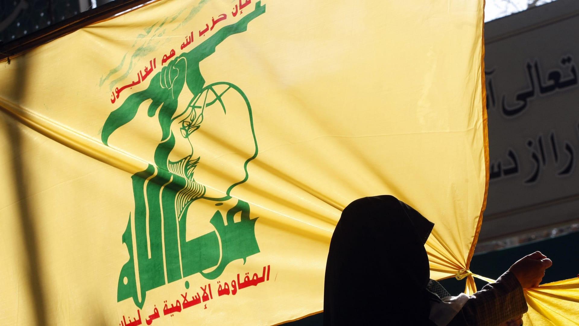 صورة ارشيفية لراية حزب الله اللبناني