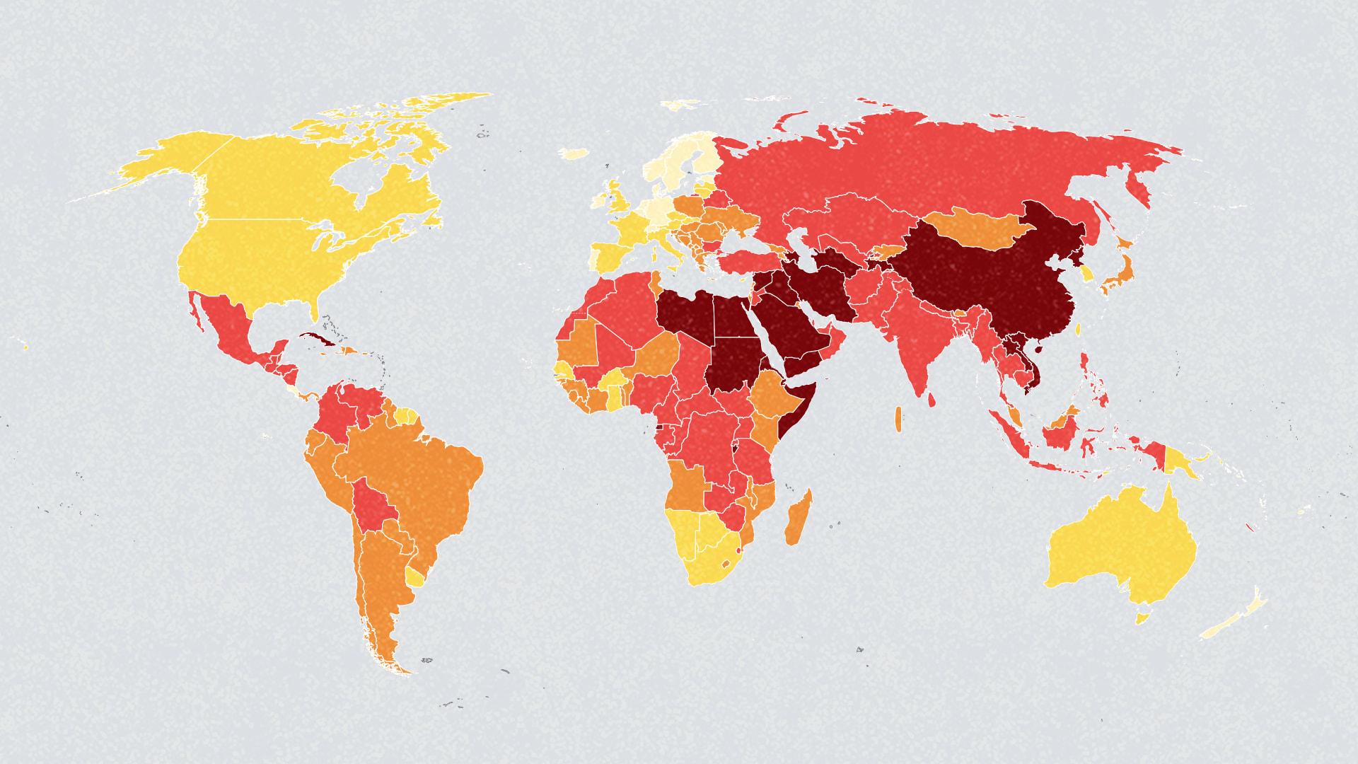 World press freedom
