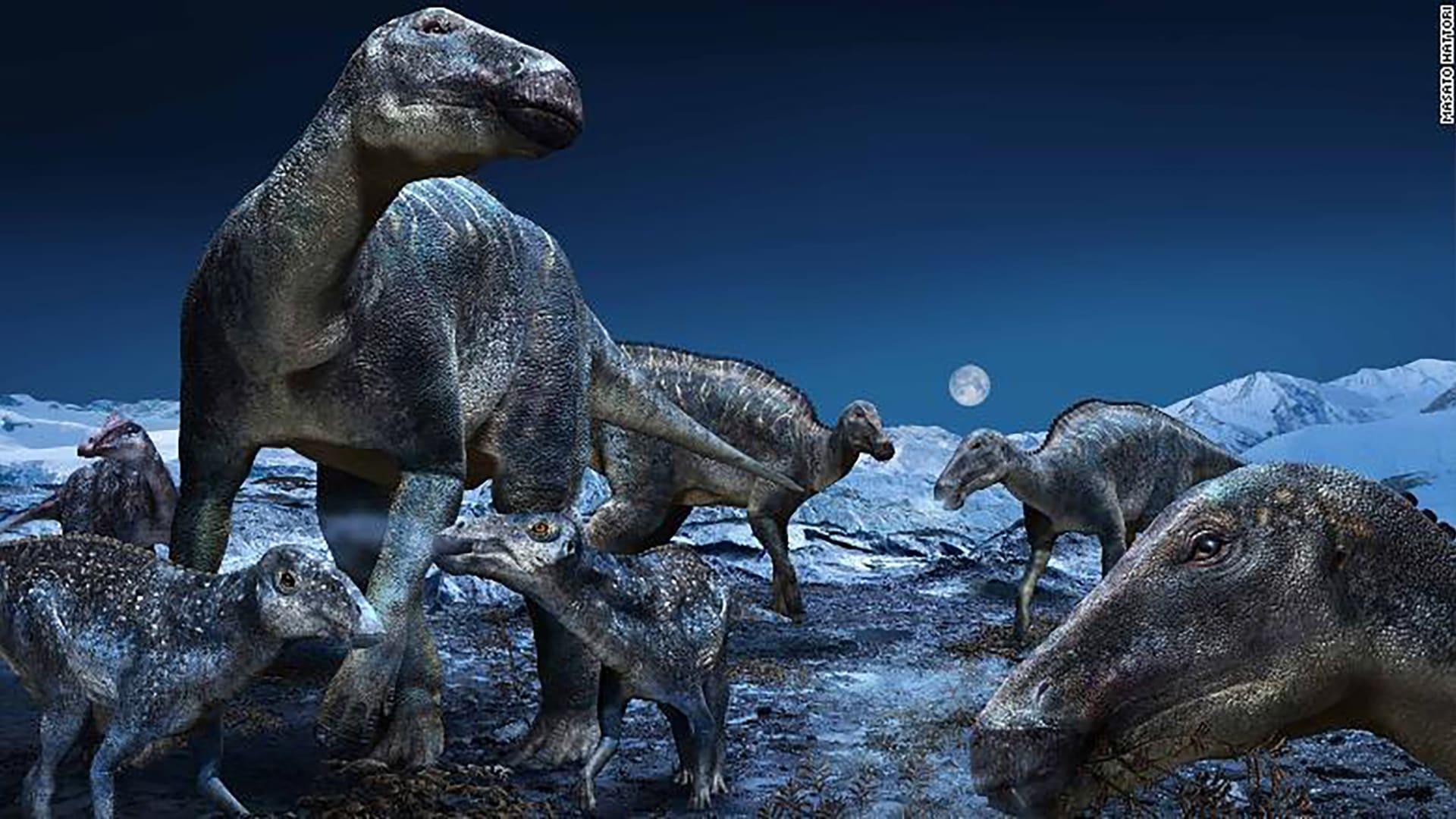 ديناصور القطب الشمالي يعبر الجسر البري بين آسيا وأمريكا قبل البشر الأوائل