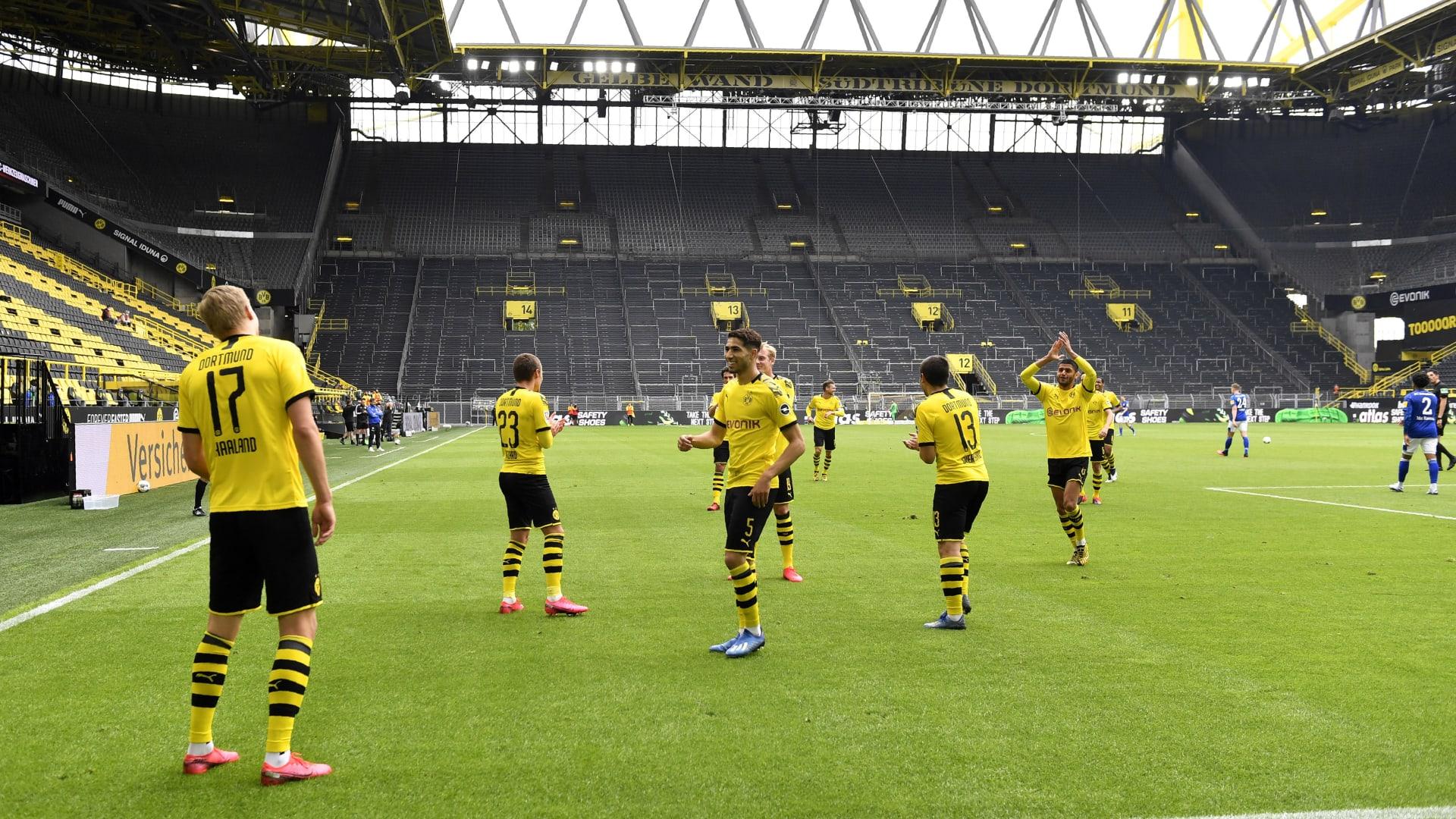 عودة الدوري الألماني.. ما الذي تغيربكرة القدم بعد كورونا في مباراة دورتموند وشالكة؟