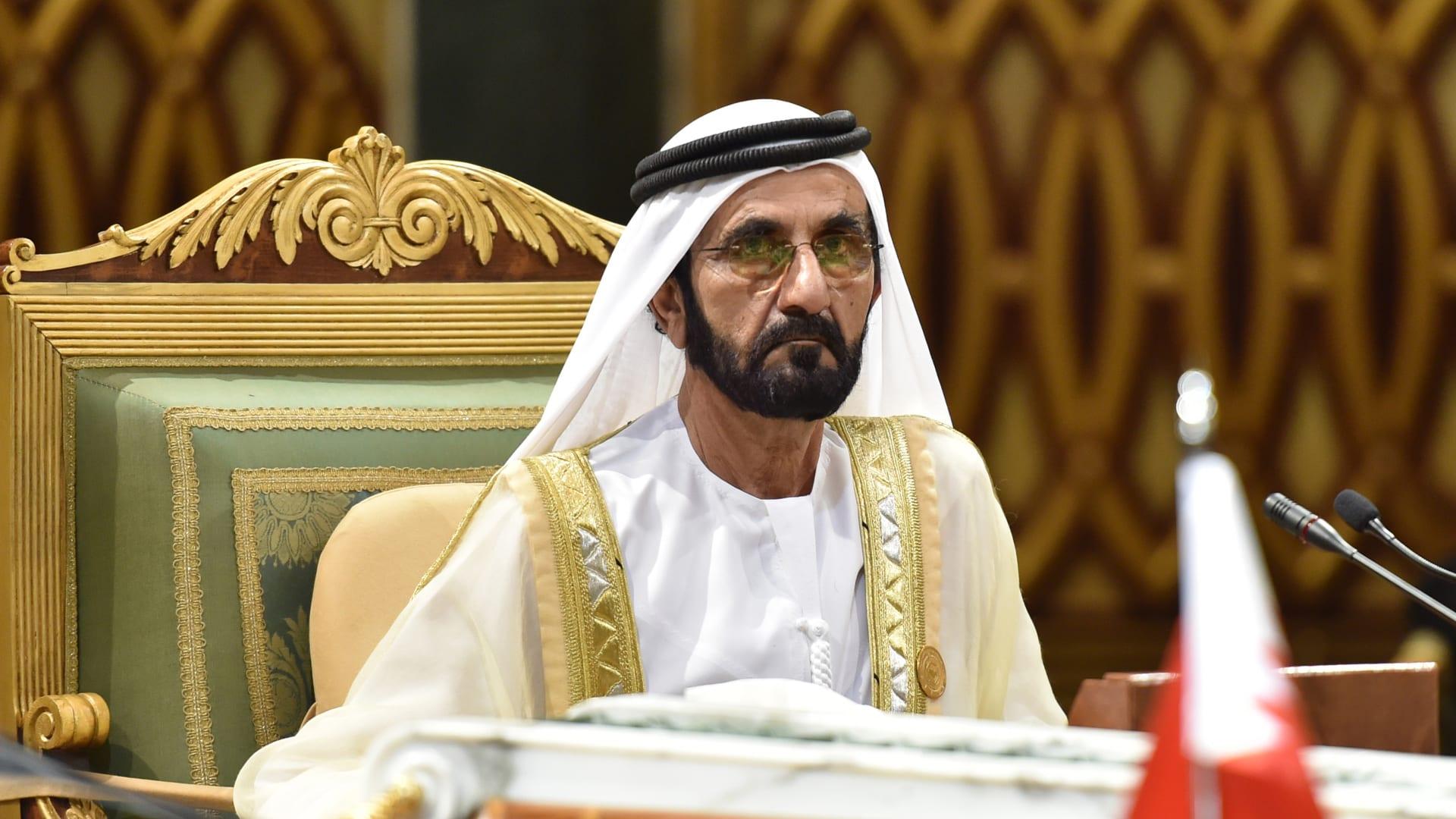"""الشيخ محمد بن راشد يوجه بضم المطور العقاري """"مراس"""" إلى """"دبي القابضة"""""""