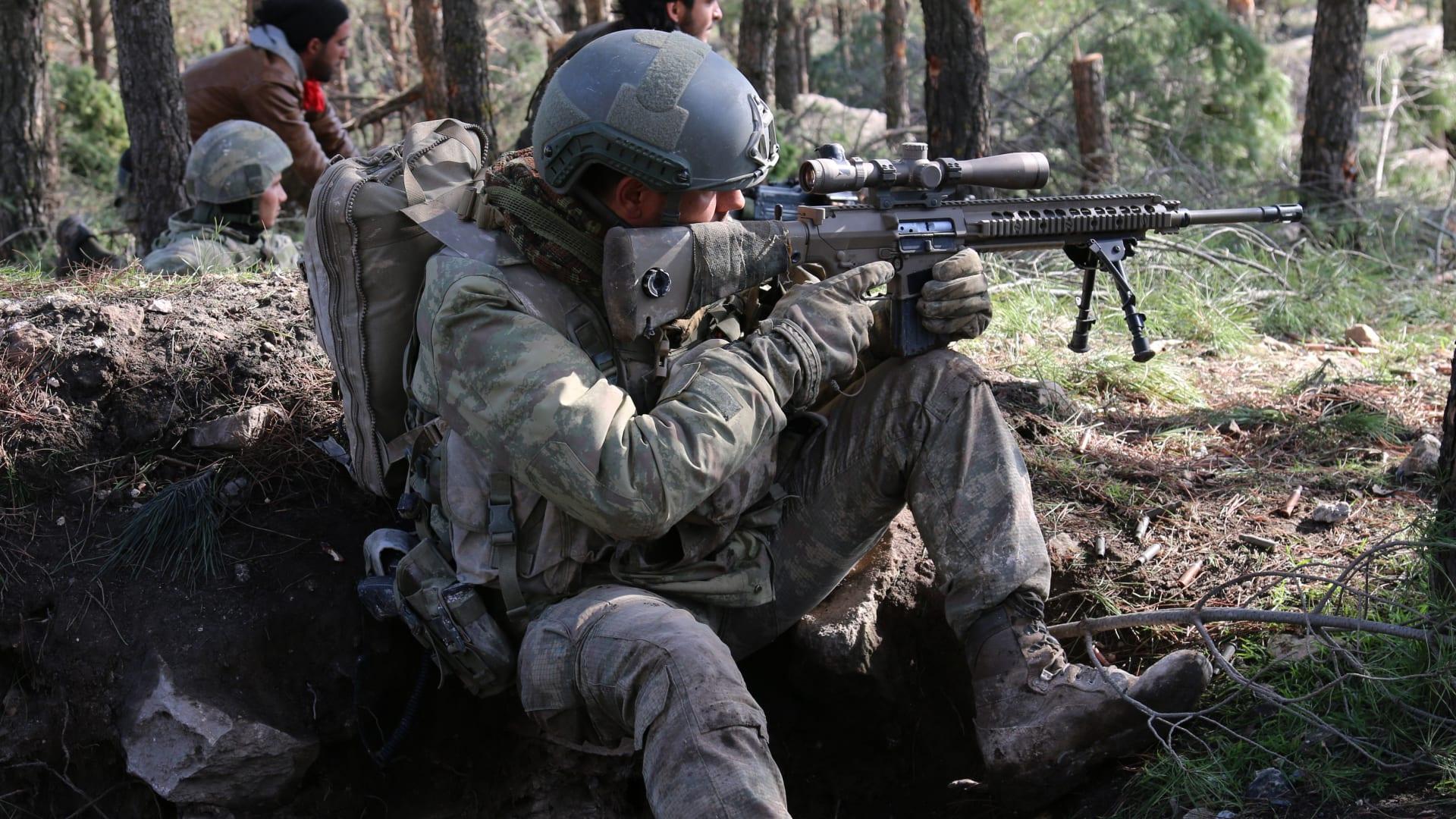 """بعد اعتراض بغداد.. تركيا تطلق عملية """"المخلب-النمر"""".. وقواتها تتوغل بشمال العراق"""
