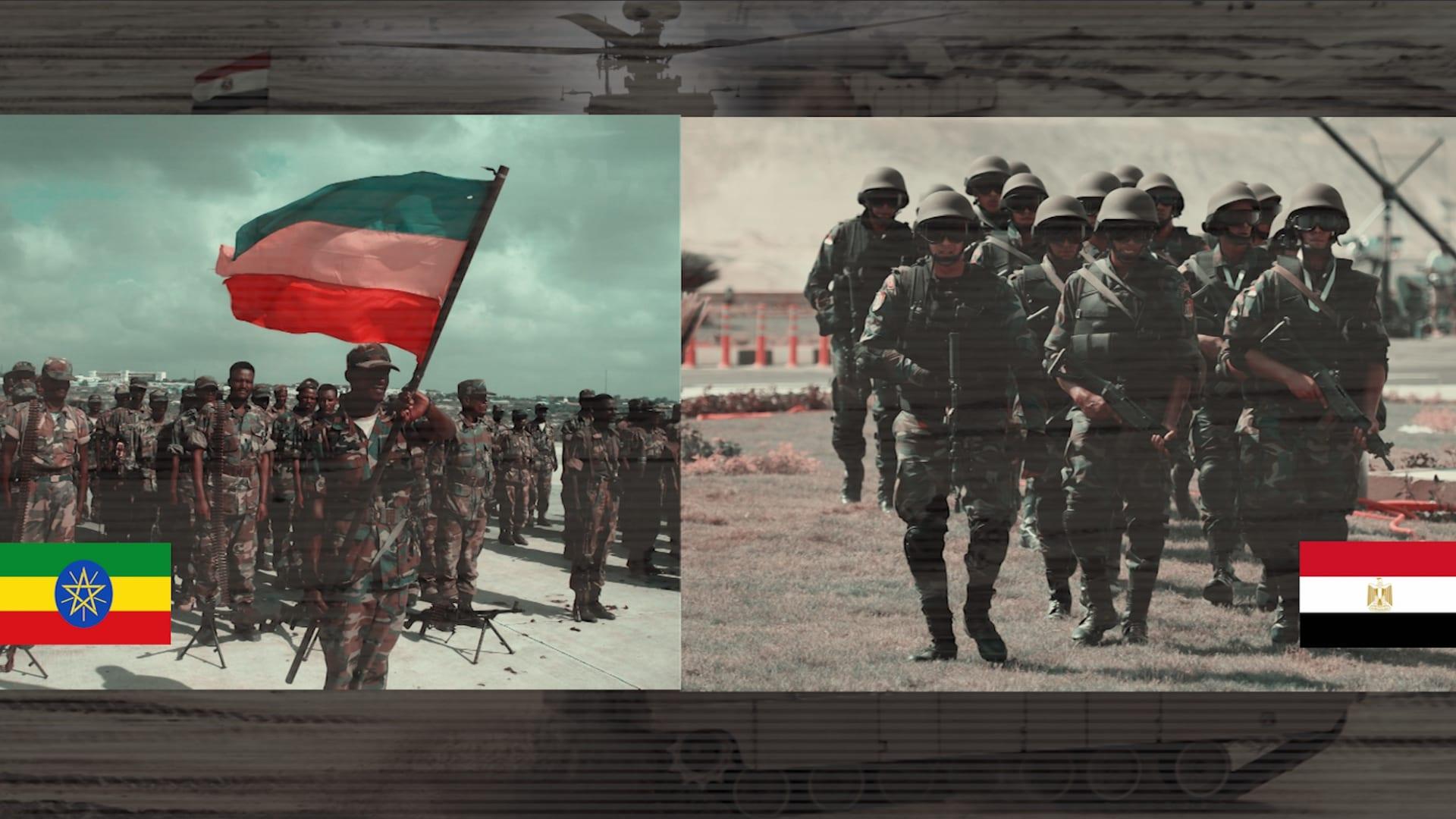 بأحدث إحصائية. مقارنة بين الجيش المصري ونظيره الإثيوبي