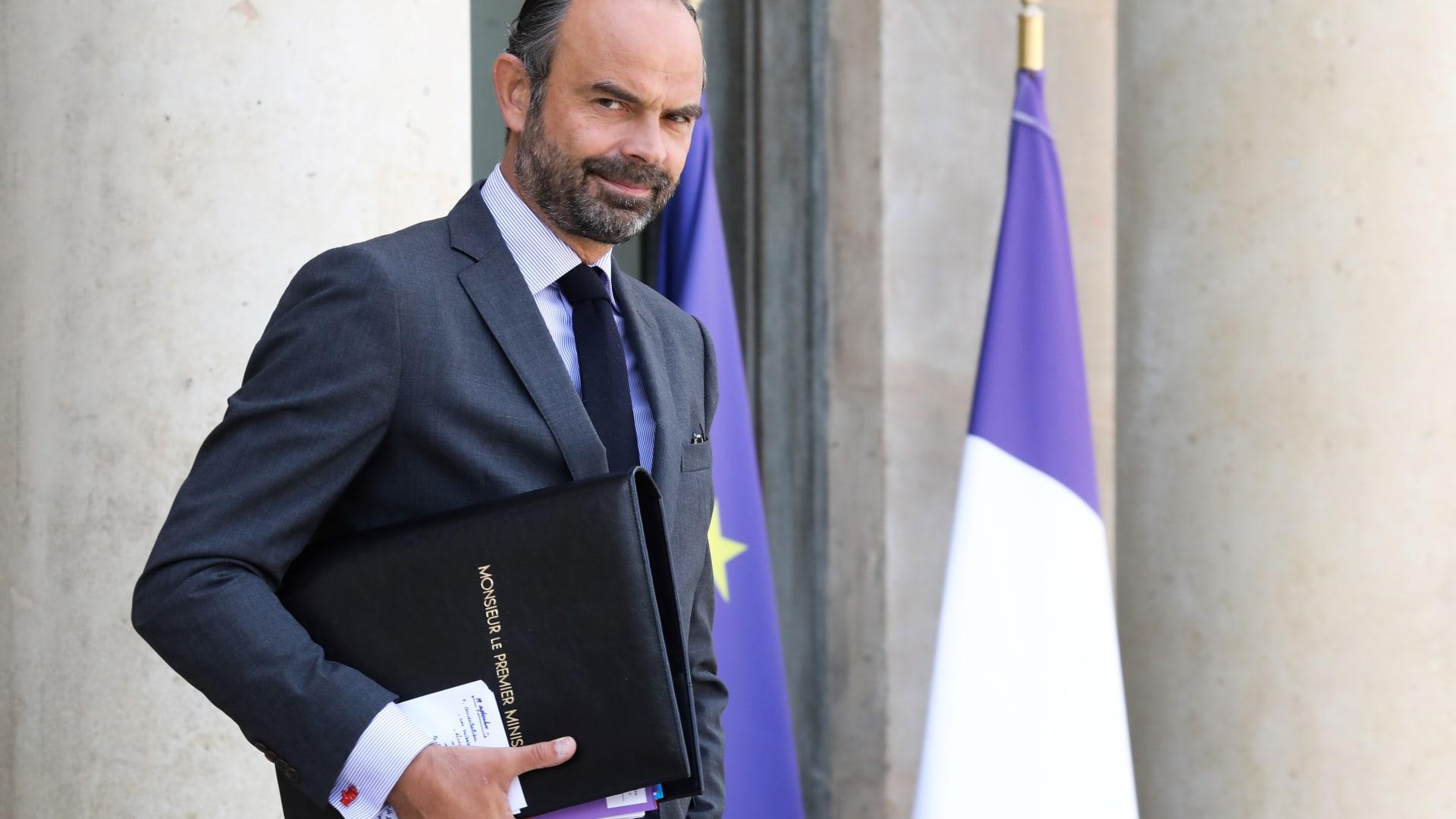 رئيس الوزراء الفرنسي، إدوارد فيليب